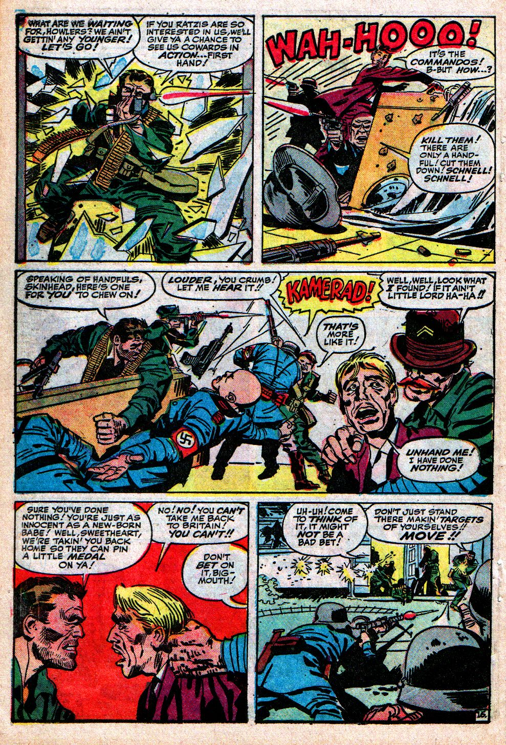 Read online Sgt. Fury comic -  Issue #4 - 22