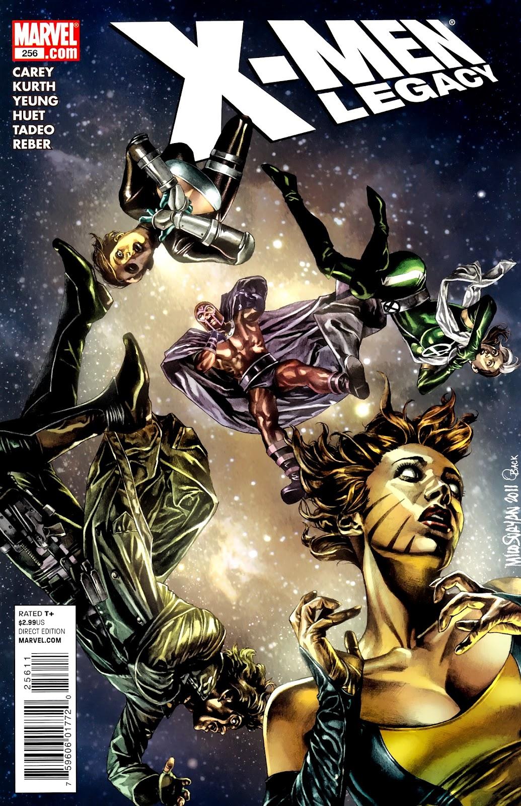 X-Men Legacy (2008) 256 Page 1