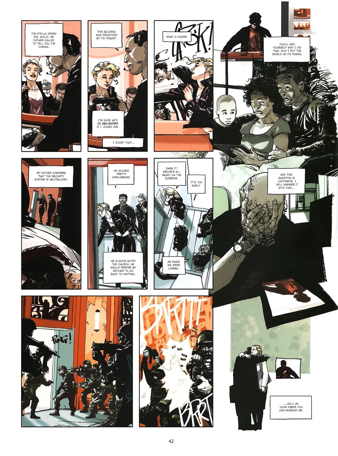 Read online Cutting Edge (2013) comic -  Issue #4 - 31