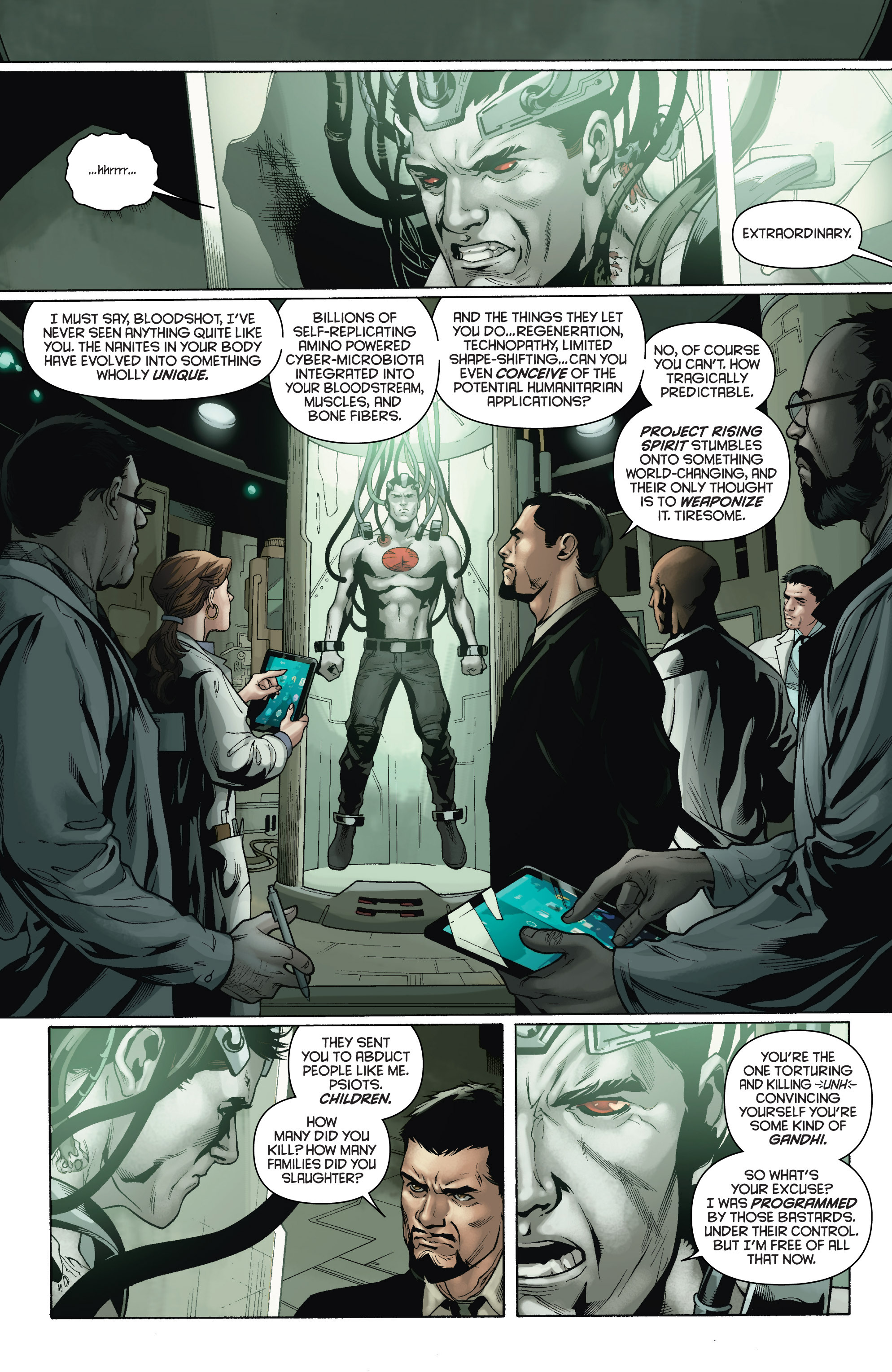 Read online Bloodshot and H.A.R.D.Corps comic -  Issue # TPB 4 - 8