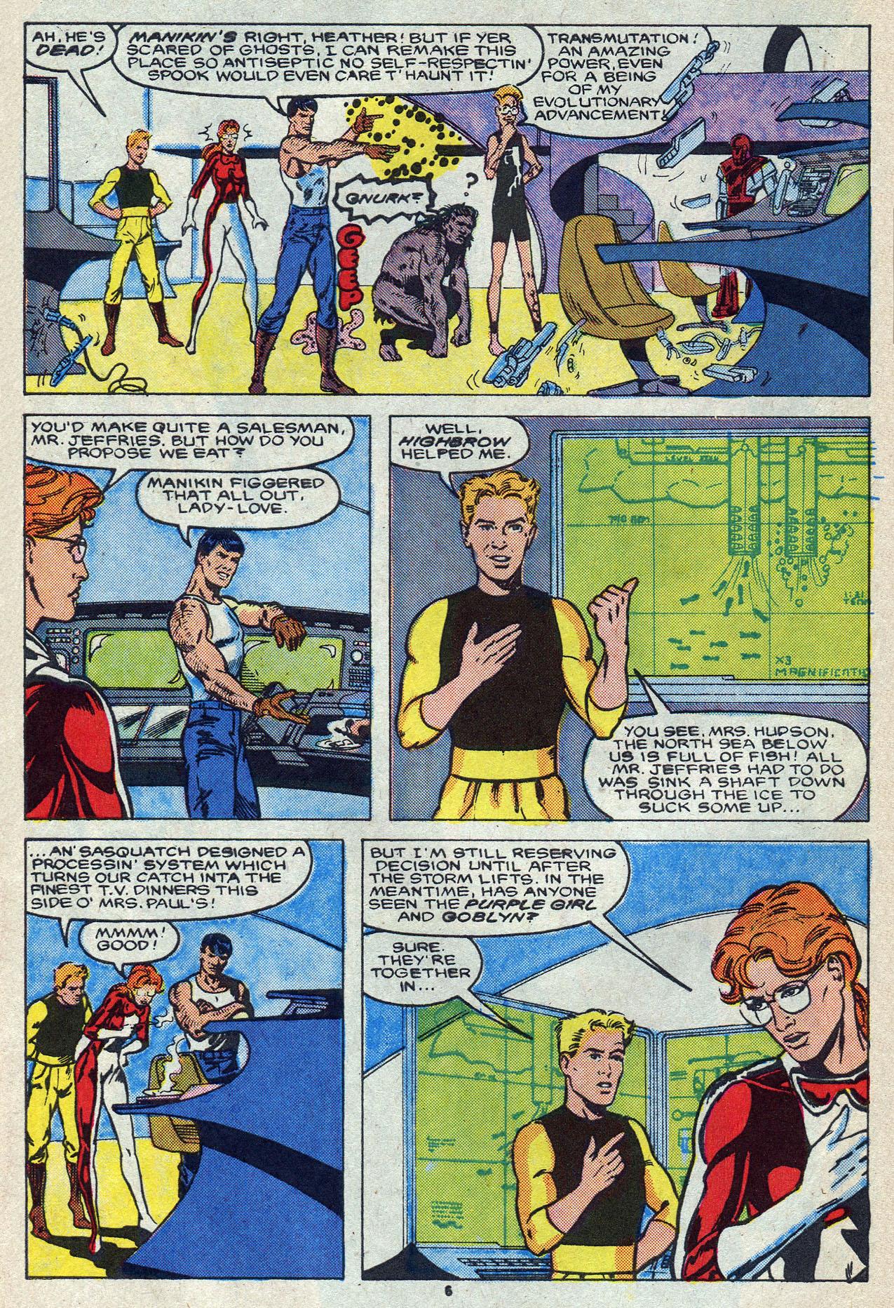 Read online Alpha Flight (1983) comic -  Issue #55 - 10