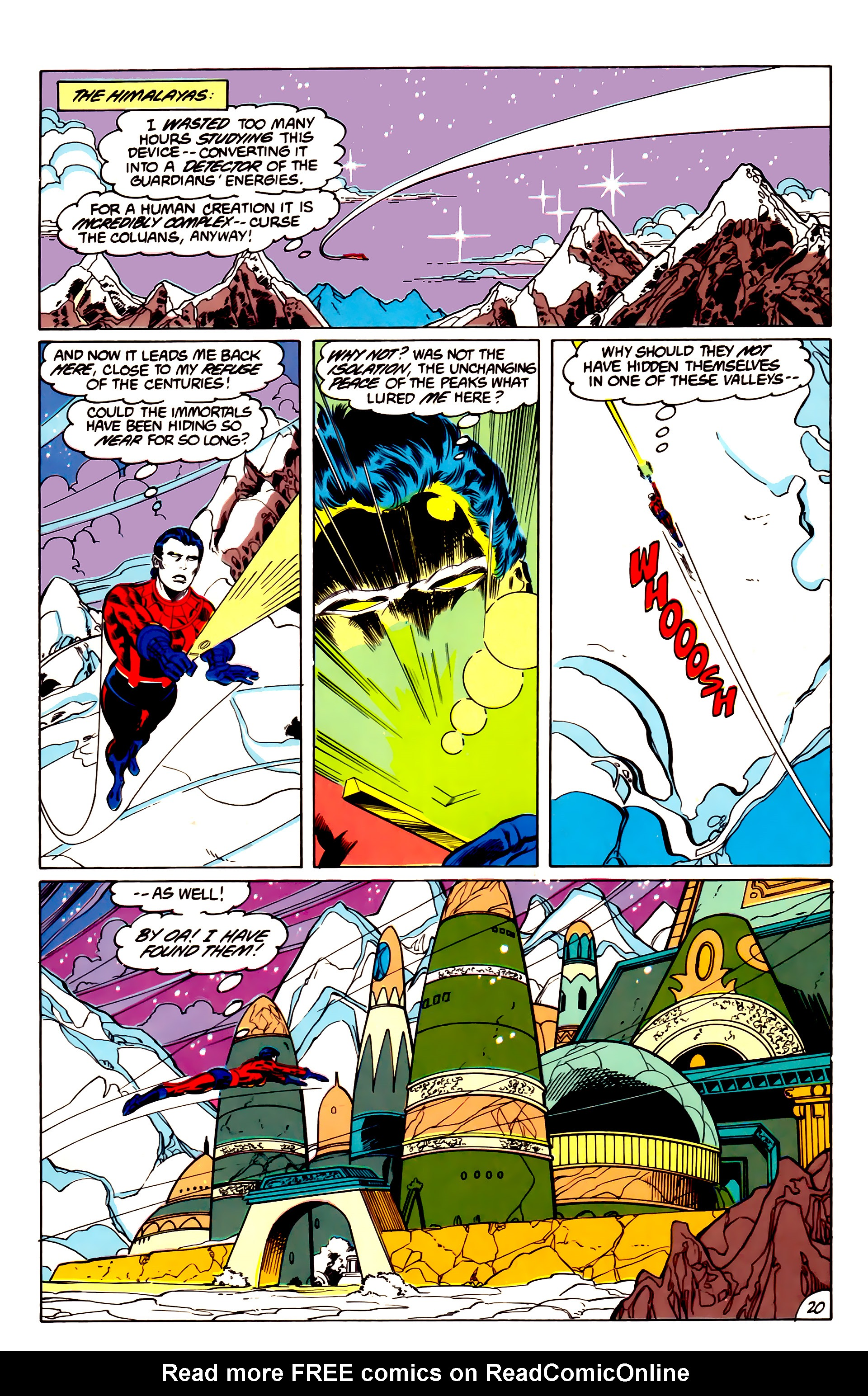 Legion of Super-Heroes (1984) 43 Page 20