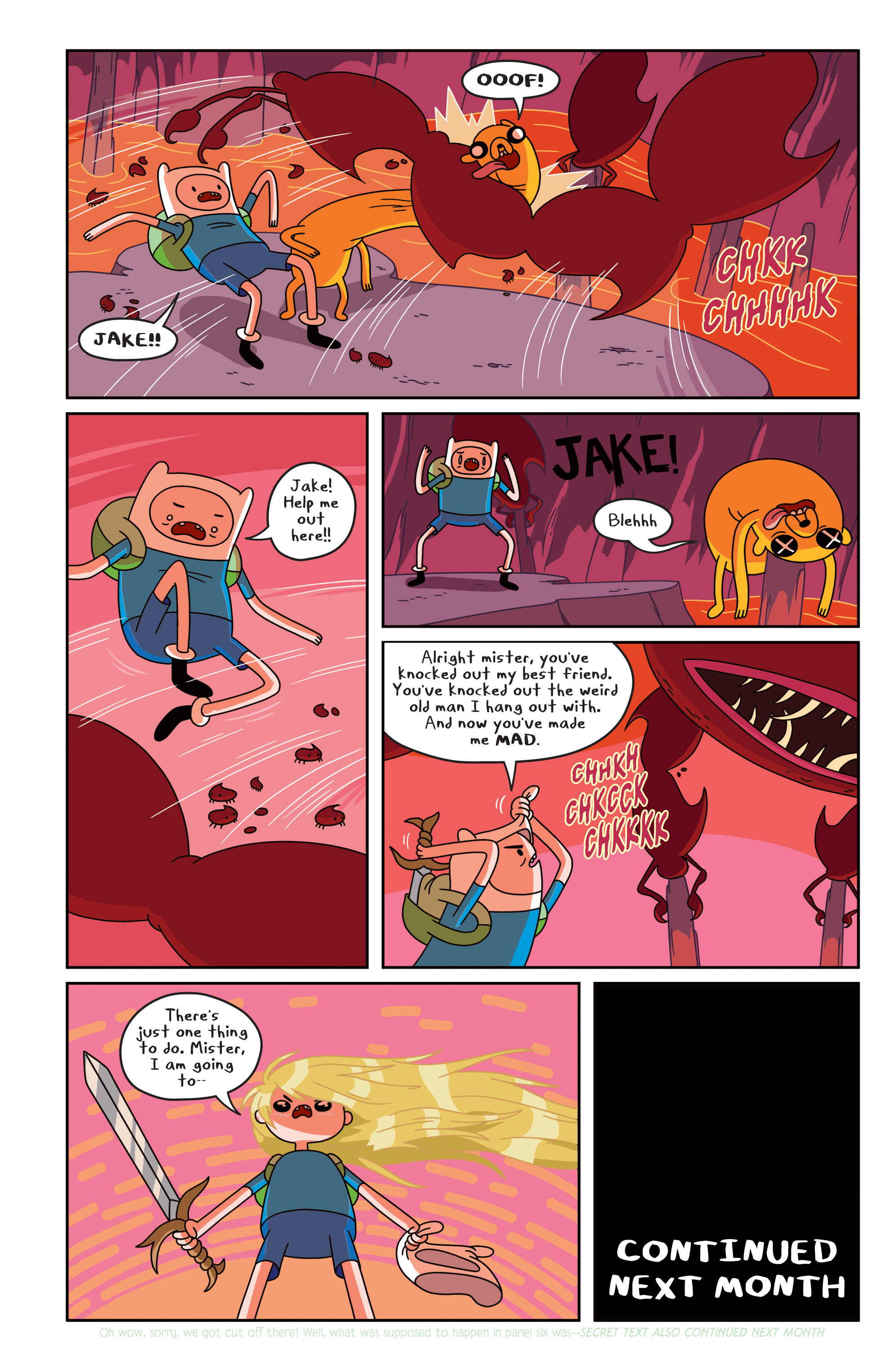 Read online Adventure Time comic -  Issue #17 - 20