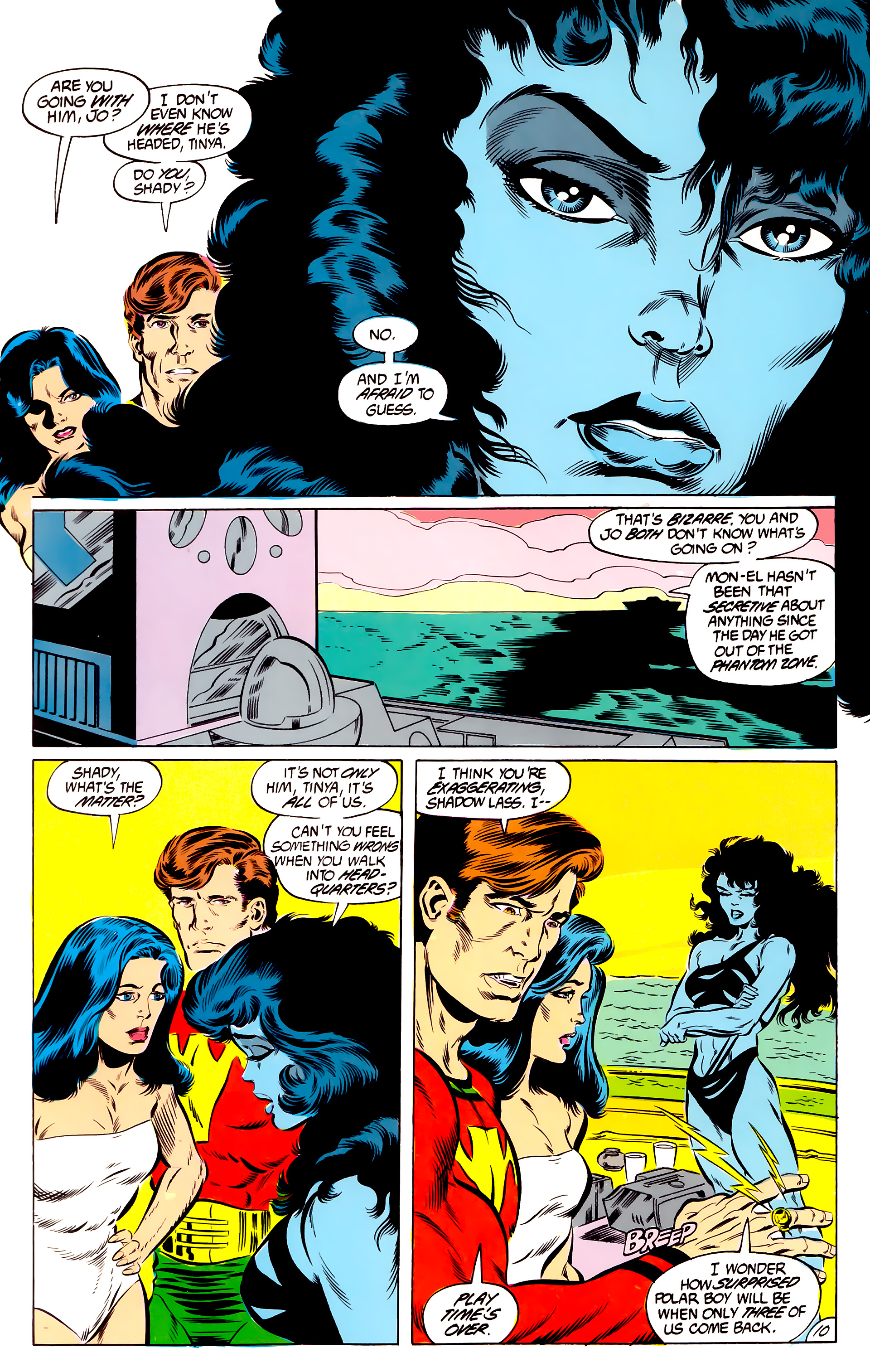 Legion of Super-Heroes (1984) 46 Page 10