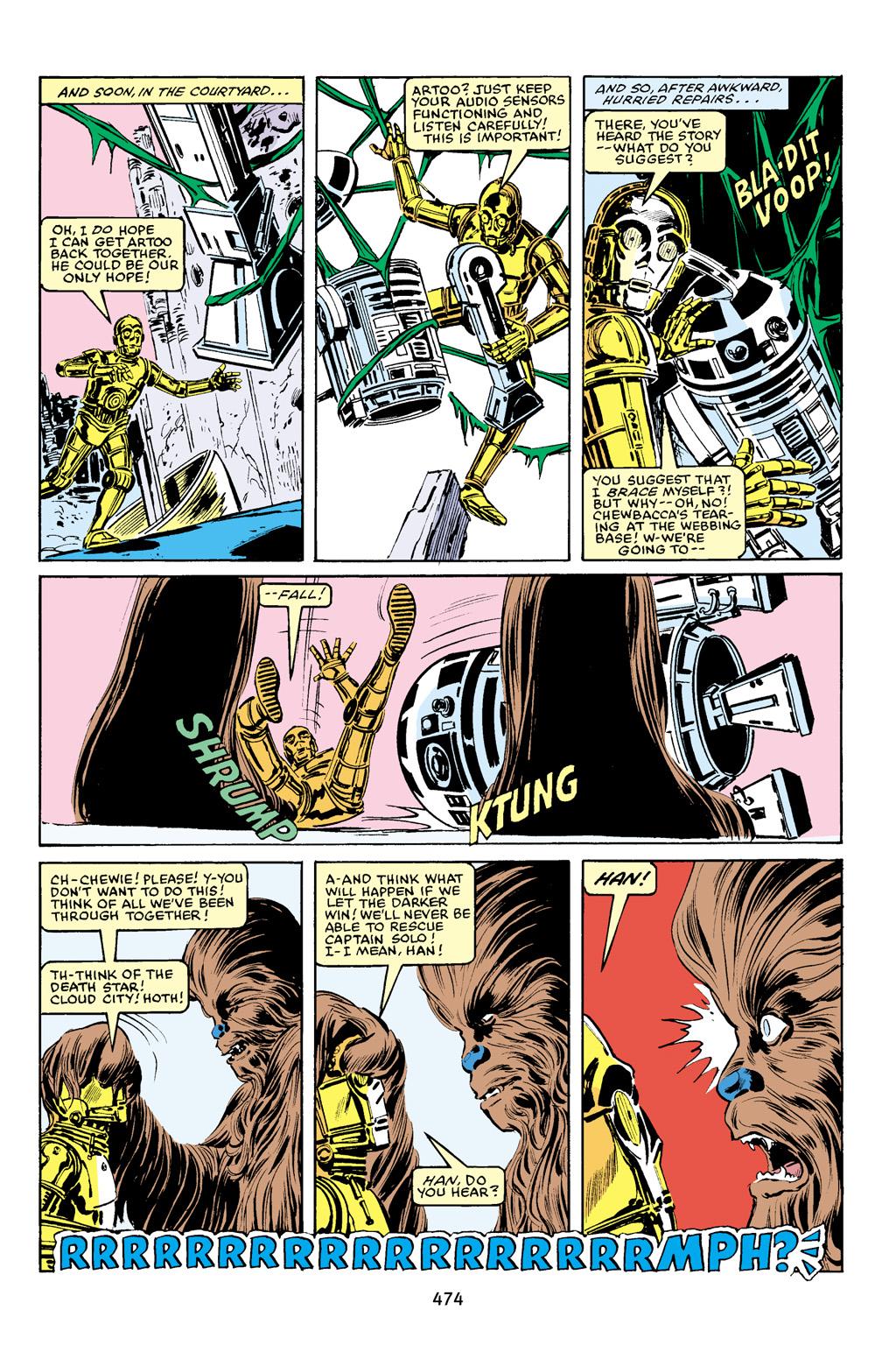 Read online Star Wars Omnibus comic -  Issue # Vol. 16 - 465