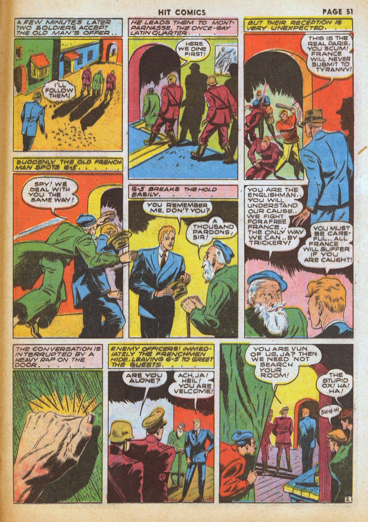 Read online Hit Comics comic -  Issue #12 - 53