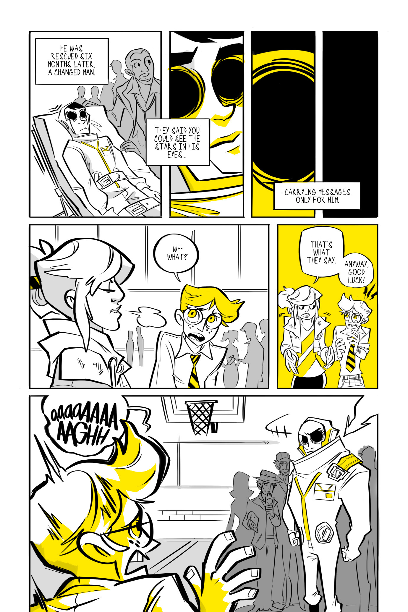 Read online BUZZ! comic -  Issue # TPB - 58