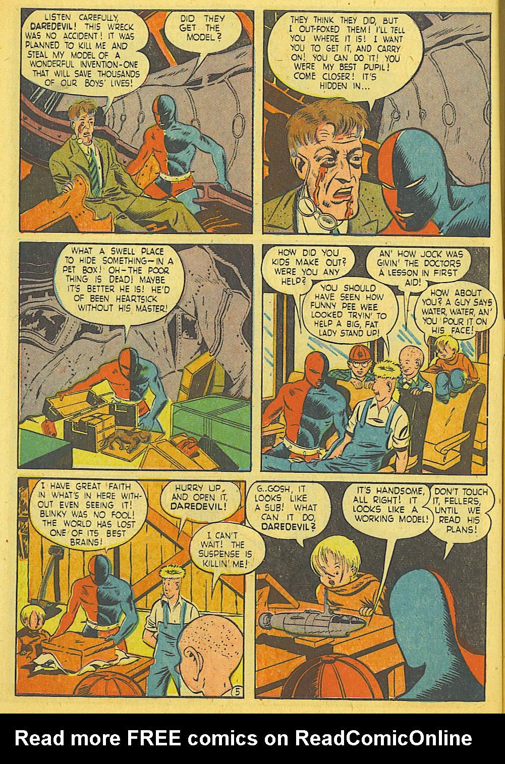 Daredevil (1941) issue 21 - Page 6