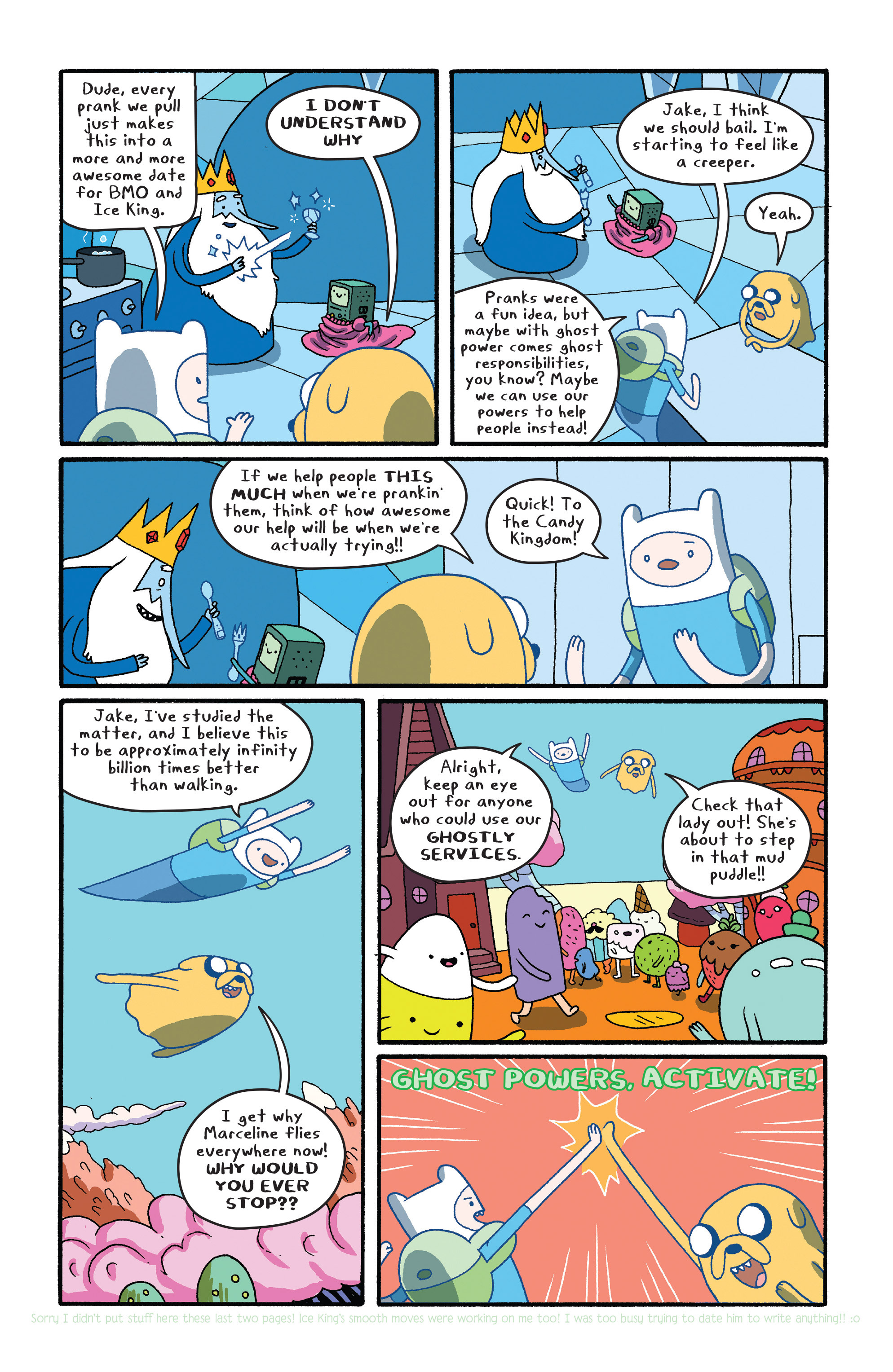 Read online Adventure Time comic -  Issue #27 - 12