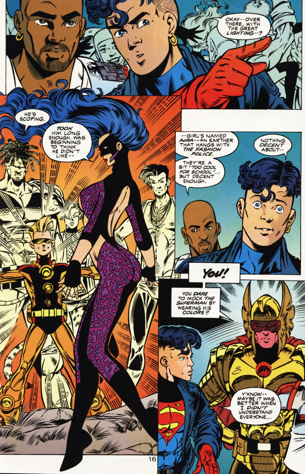 Read online Superboy & The Ravers comic -  Issue #1 - 17