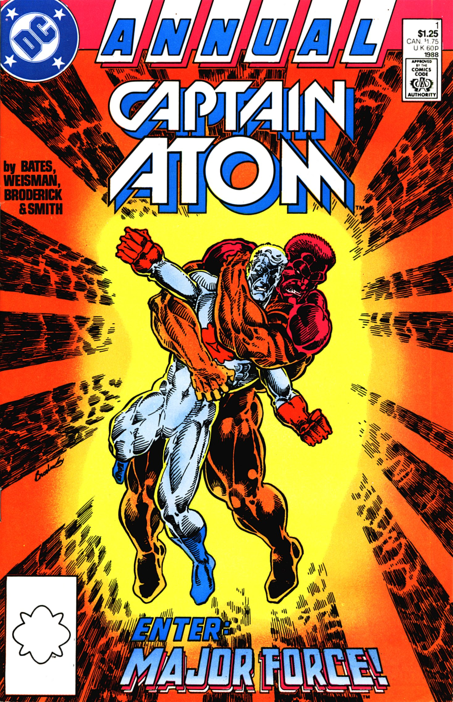 Captain Atom (1987) _Annual_1 Page 1