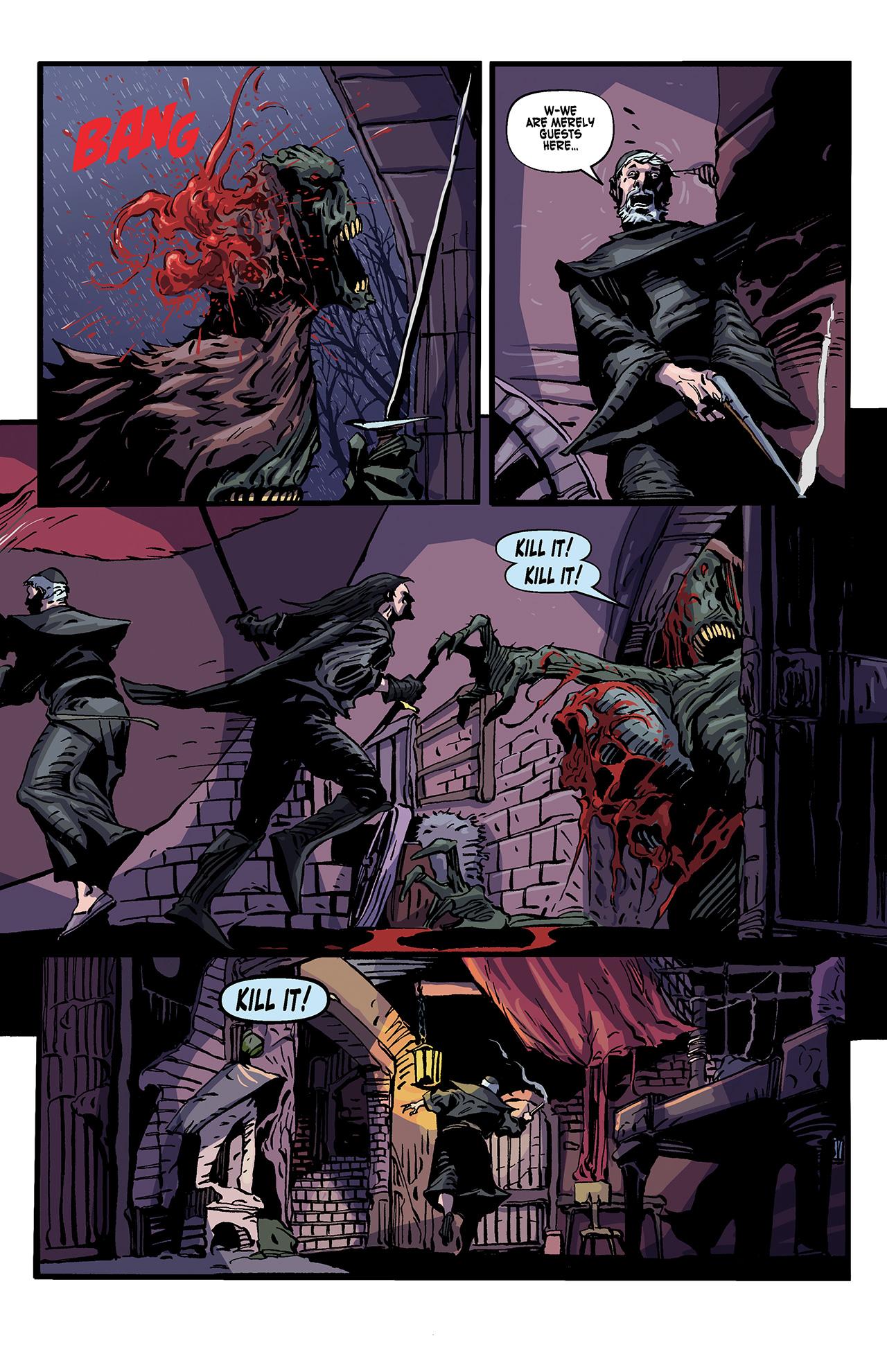 Read online Solomon Kane: Death's Black Riders comic -  Issue #4 - 10
