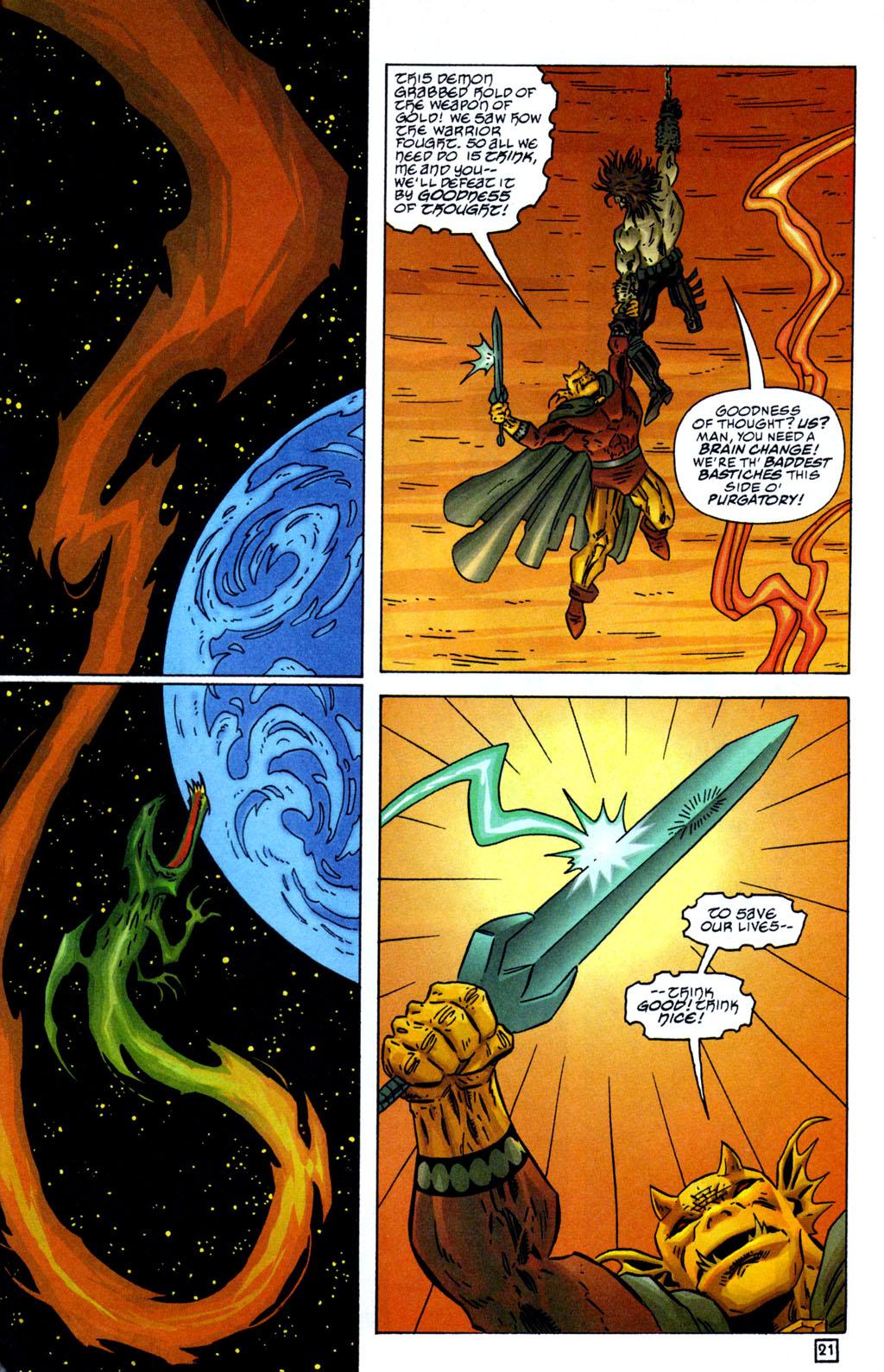 Read online Lobo/Demon: Hellowe'en comic -  Issue # Full - 22