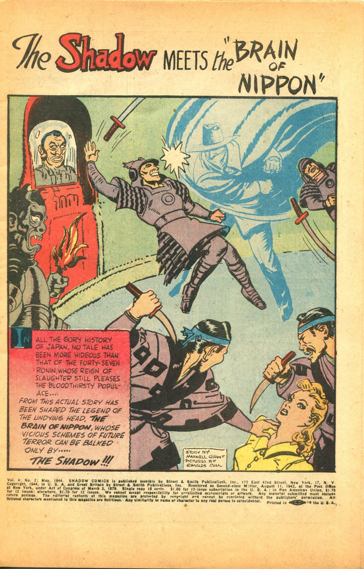 Read online Shadow Comics comic -  Issue #38 - 3