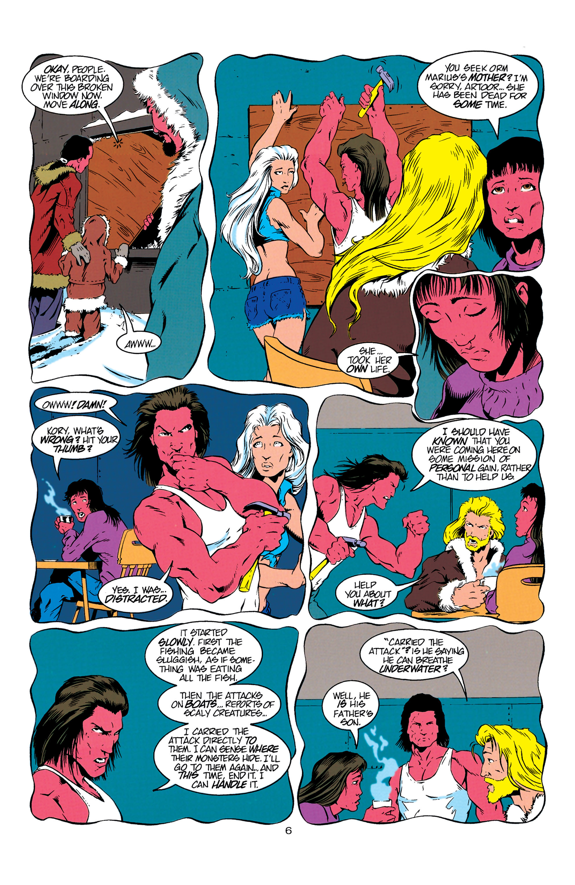 Read online Aquaman (1994) comic -  Issue #6 - 7