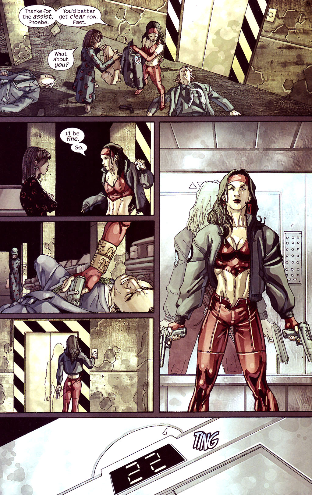 Read online Ultimate Elektra comic -  Issue #5 - 15