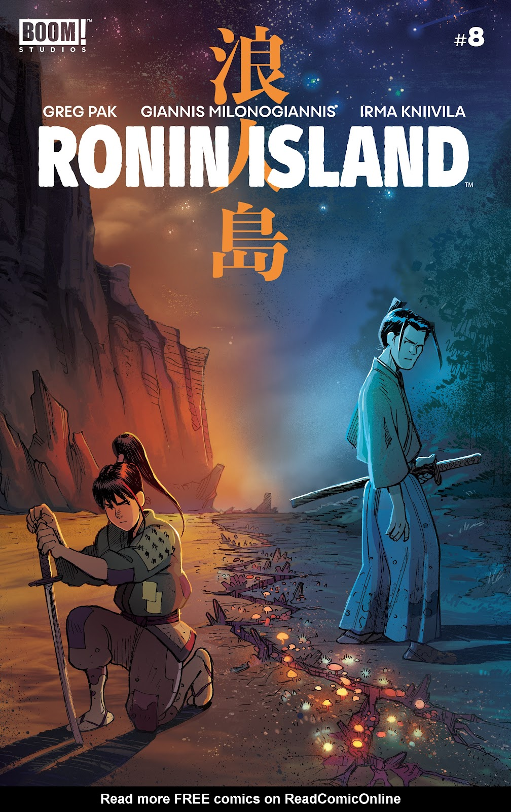 Read online Ronin Island comic -  Issue #8 - 1