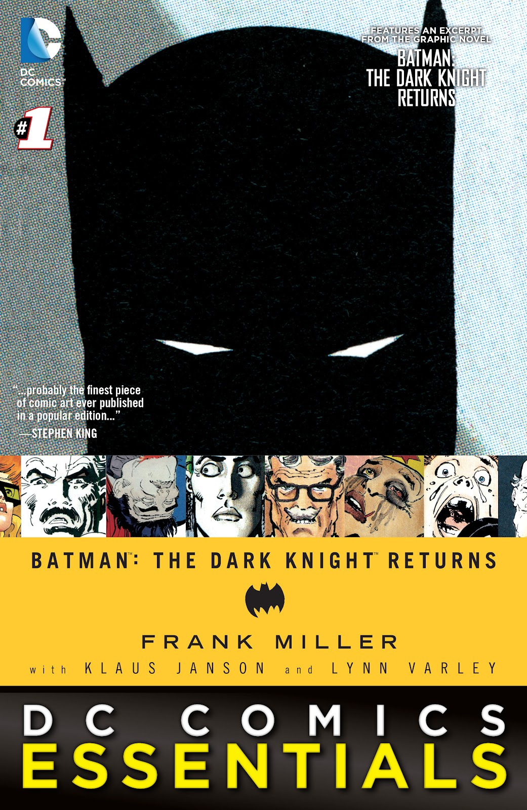 DC Comics Essentials: The Dark Knight Returns issue 1 - Page 1