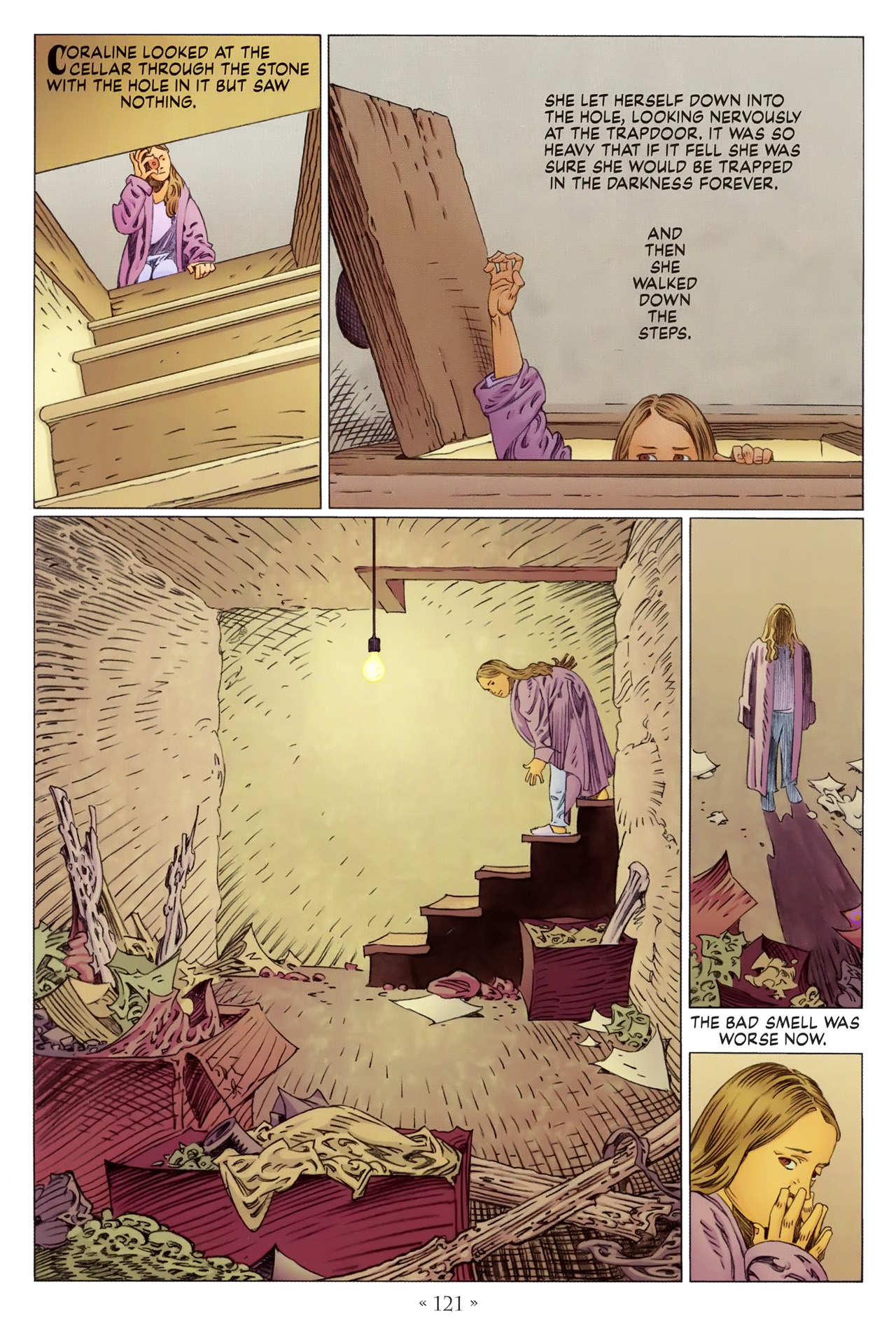 Read online Coraline comic -  Issue #1 - 127