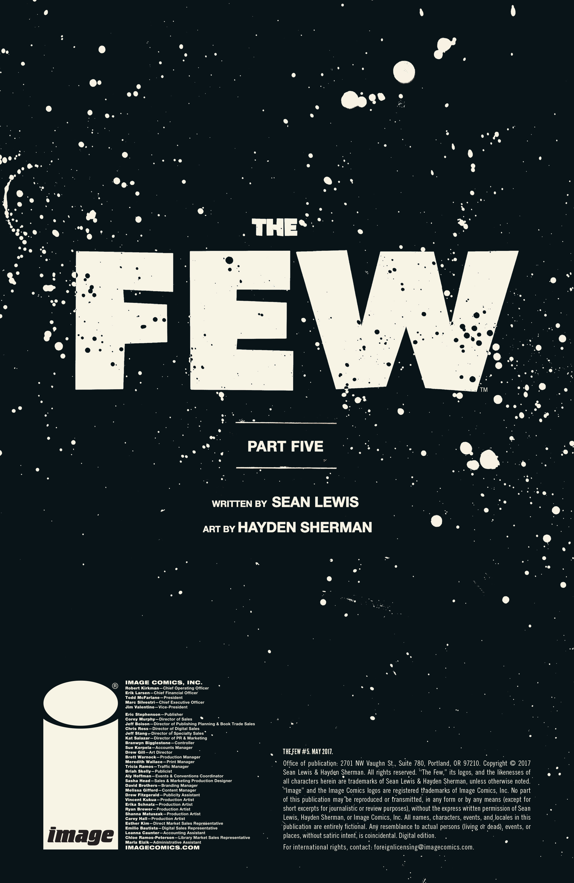 Read online The Few comic -  Issue #5 - 41