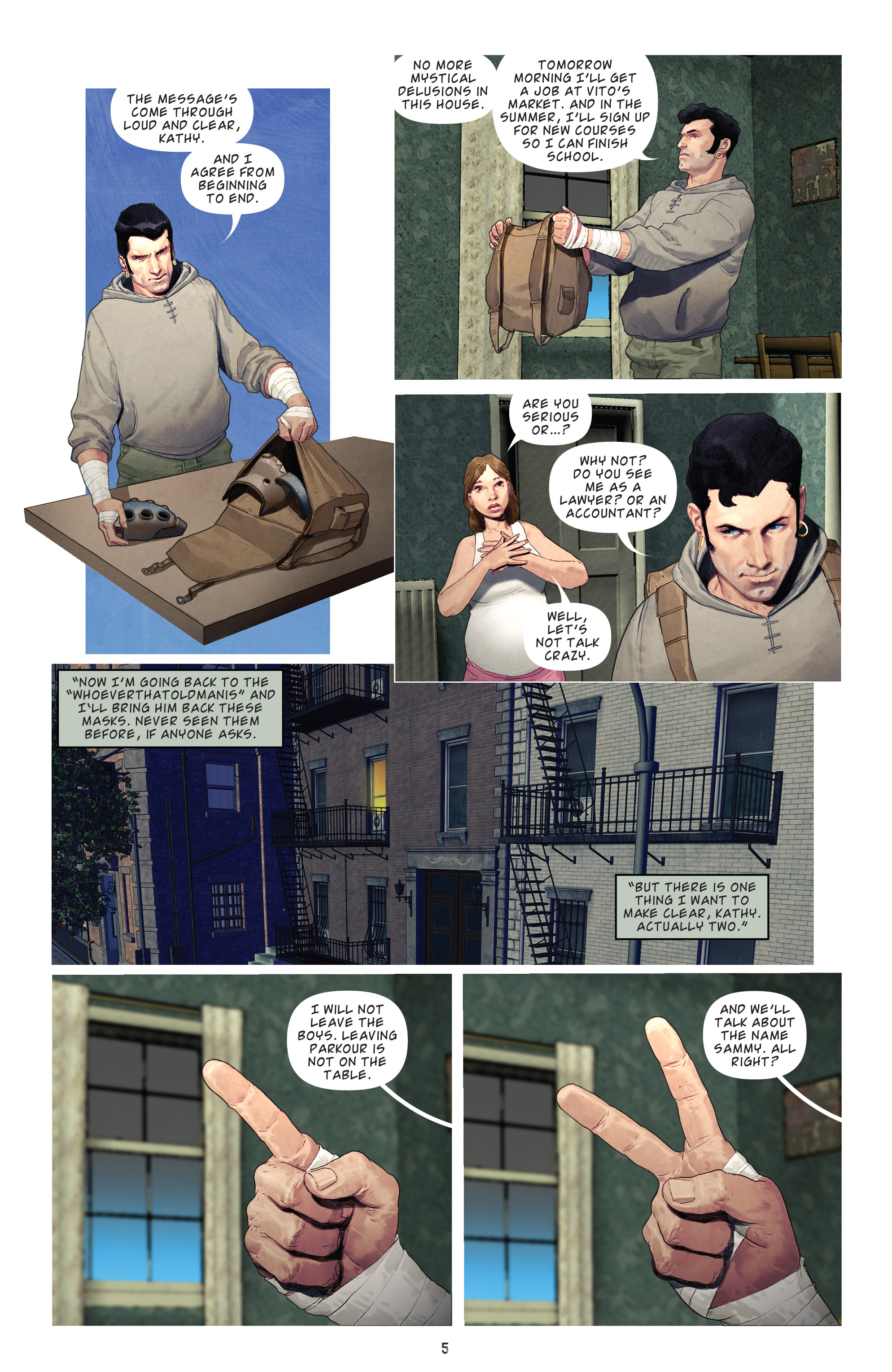 Read online Brutal Nature: Concrete Fury comic -  Issue #4 - 7