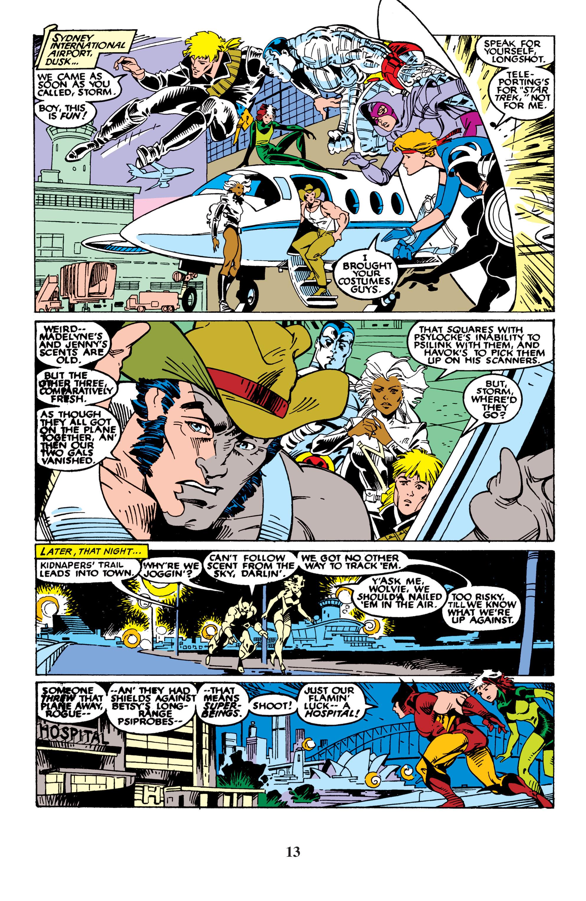 Read online Uncanny X-Men (1963) comic -  Issue #235 - 13