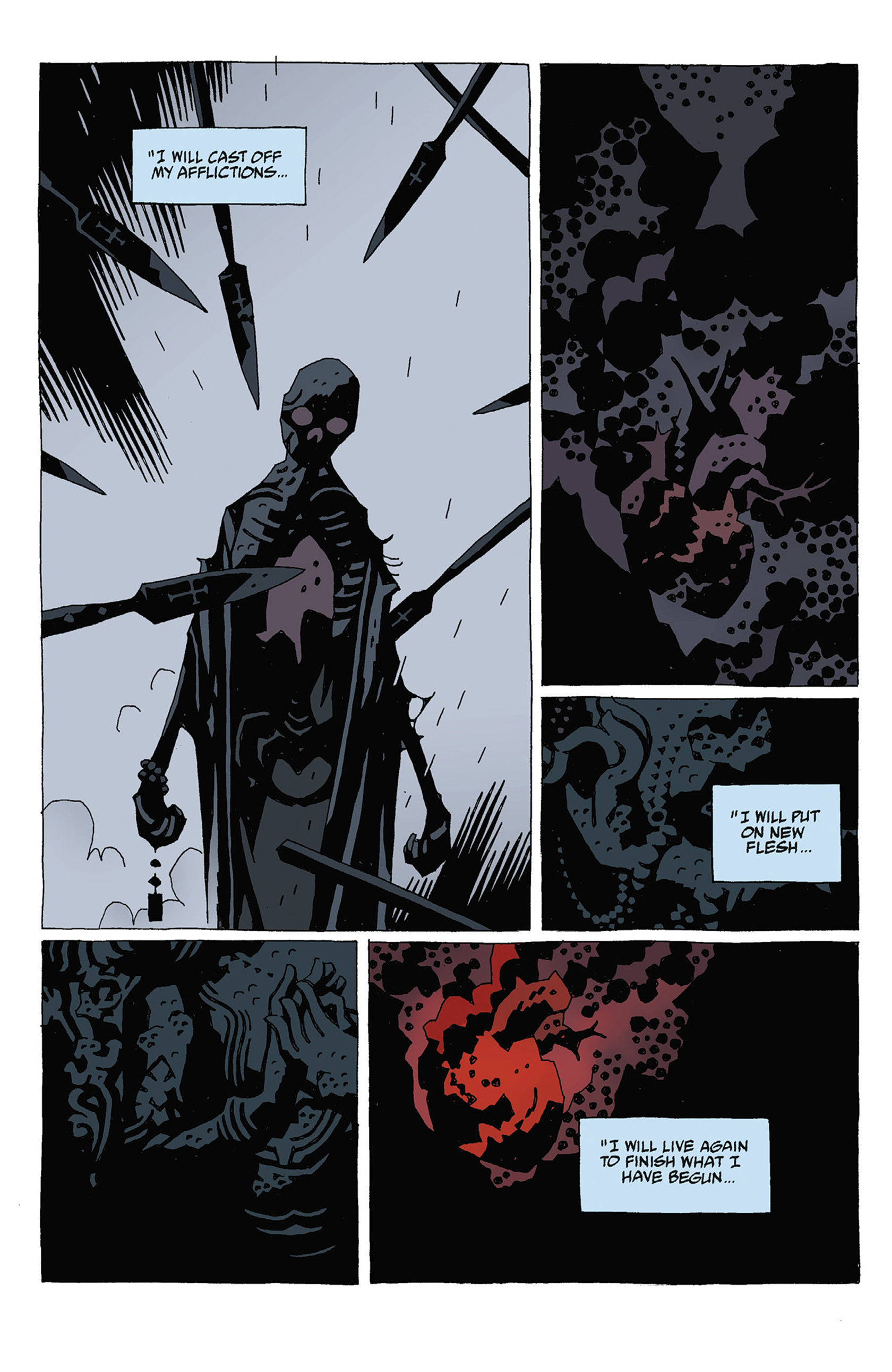 Read online Hellboy: Strange Places comic -  Issue # TPB - 94