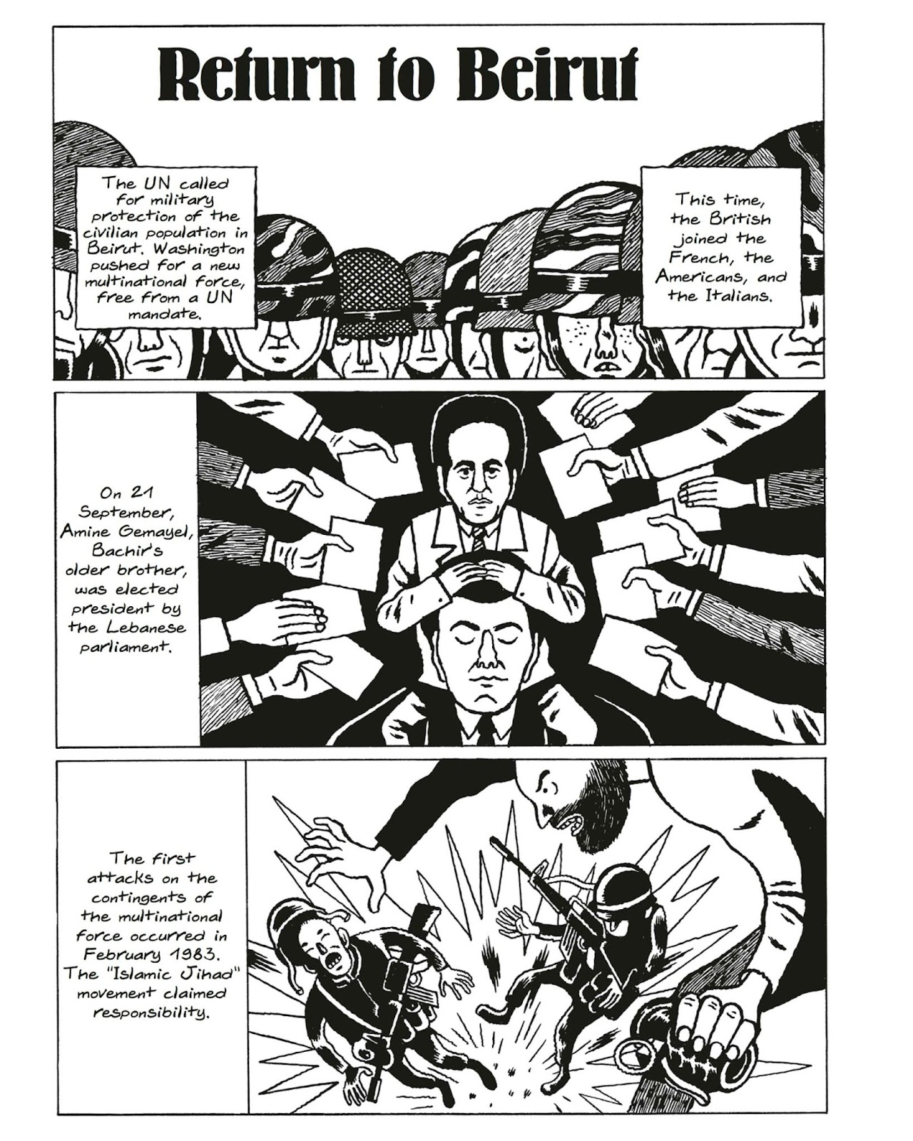 Best of Enemies: A History of US and Middle East Relations issue TPB_2 - Page 96
