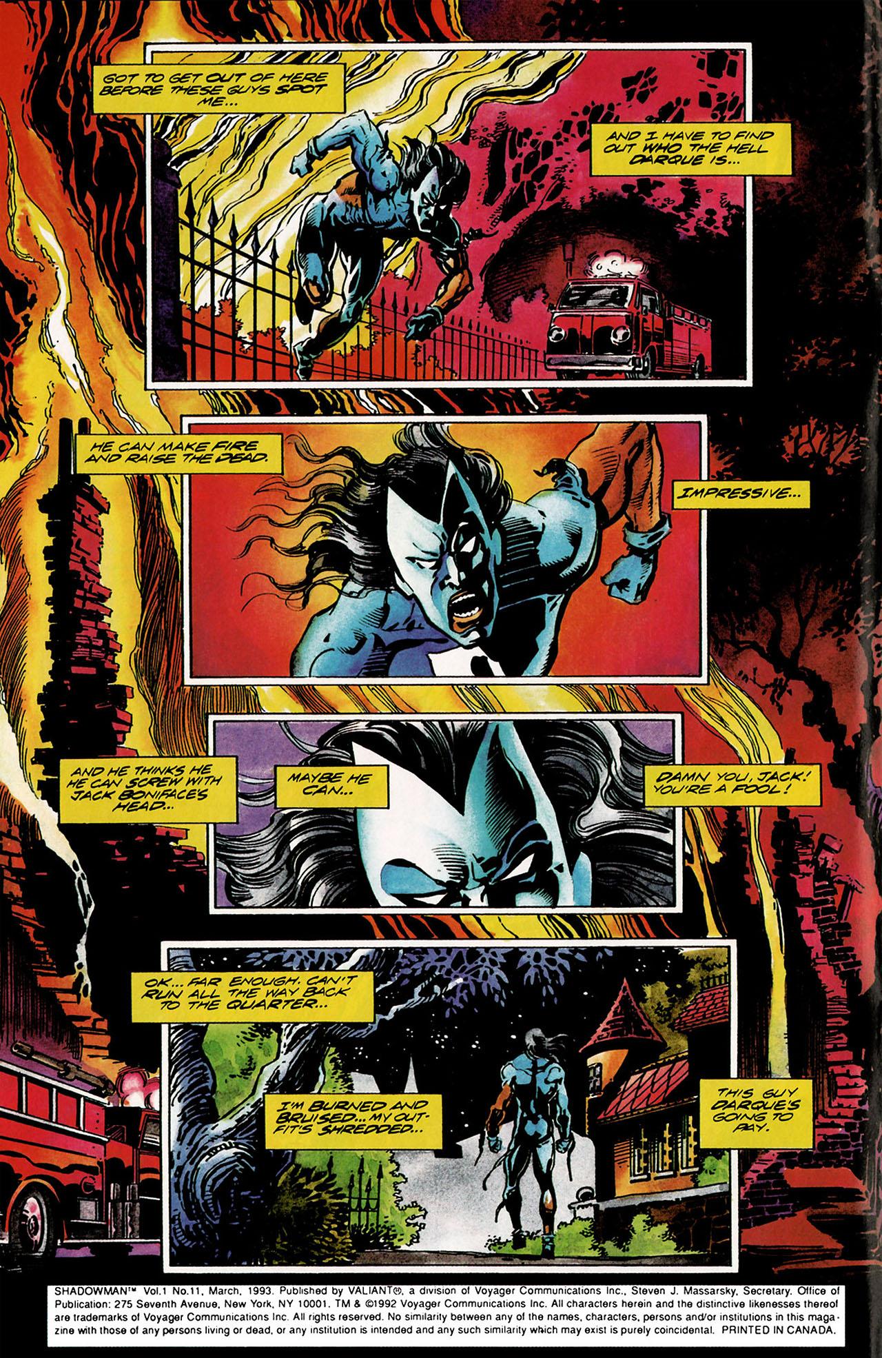 Read online Shadowman (1992) comic -  Issue #11 - 3