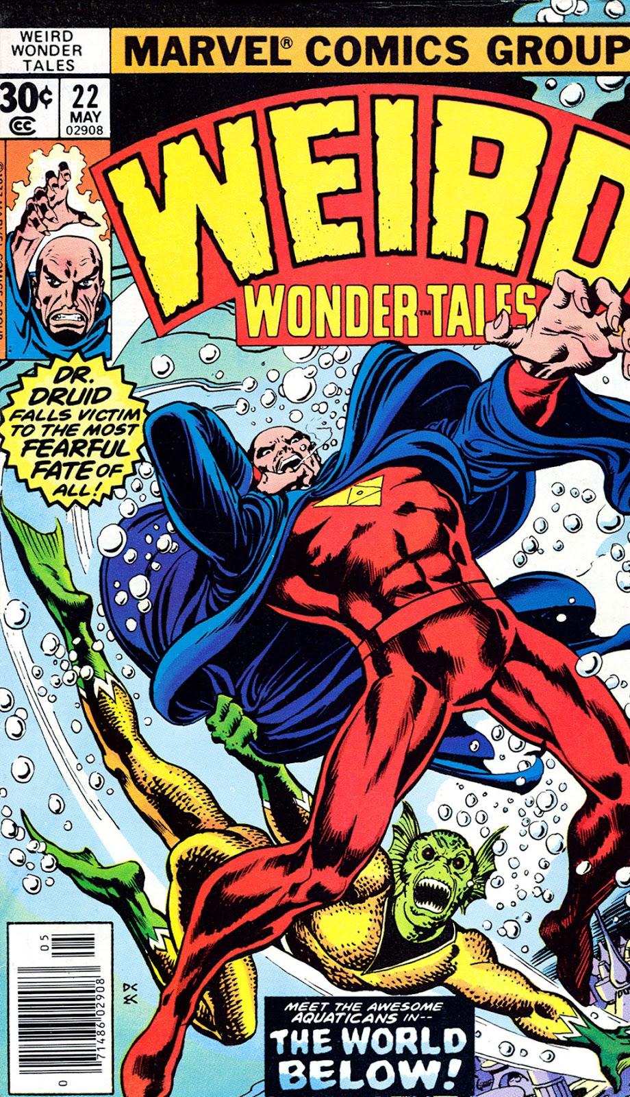 Weird Wonder Tales issue 22 - Page 1