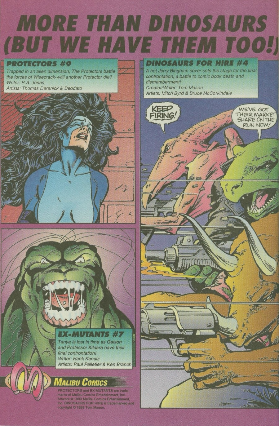 Read online Ex-Mutants comic -  Issue #7 - 31