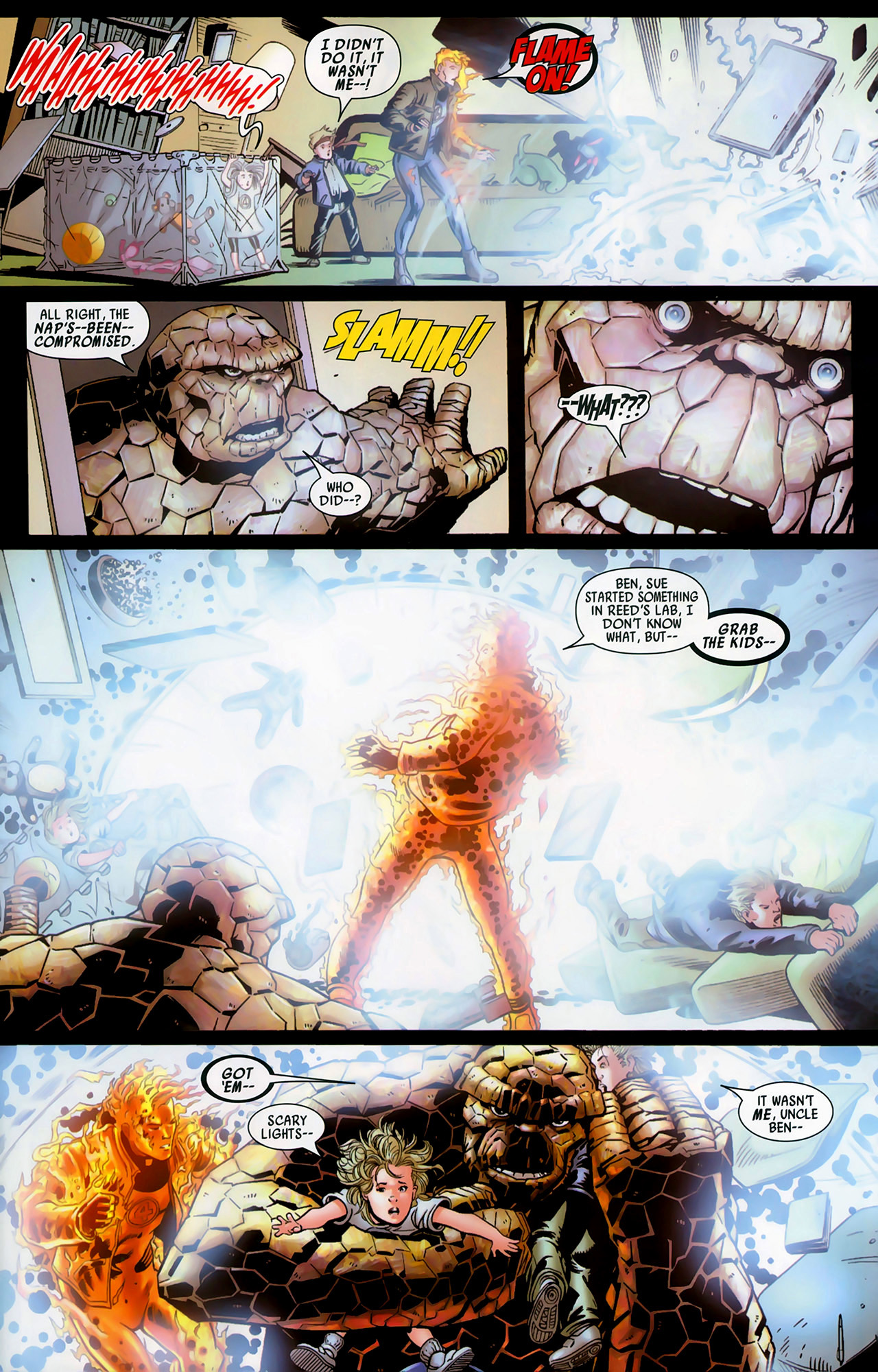 Read online Secret Invasion: Fantastic Four comic -  Issue #1 - 8