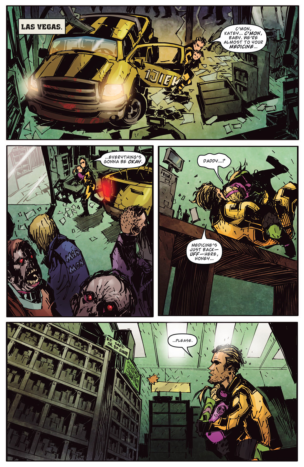 Read online Dead Rising: Road to Fortune comic -  Issue # TPB - 86