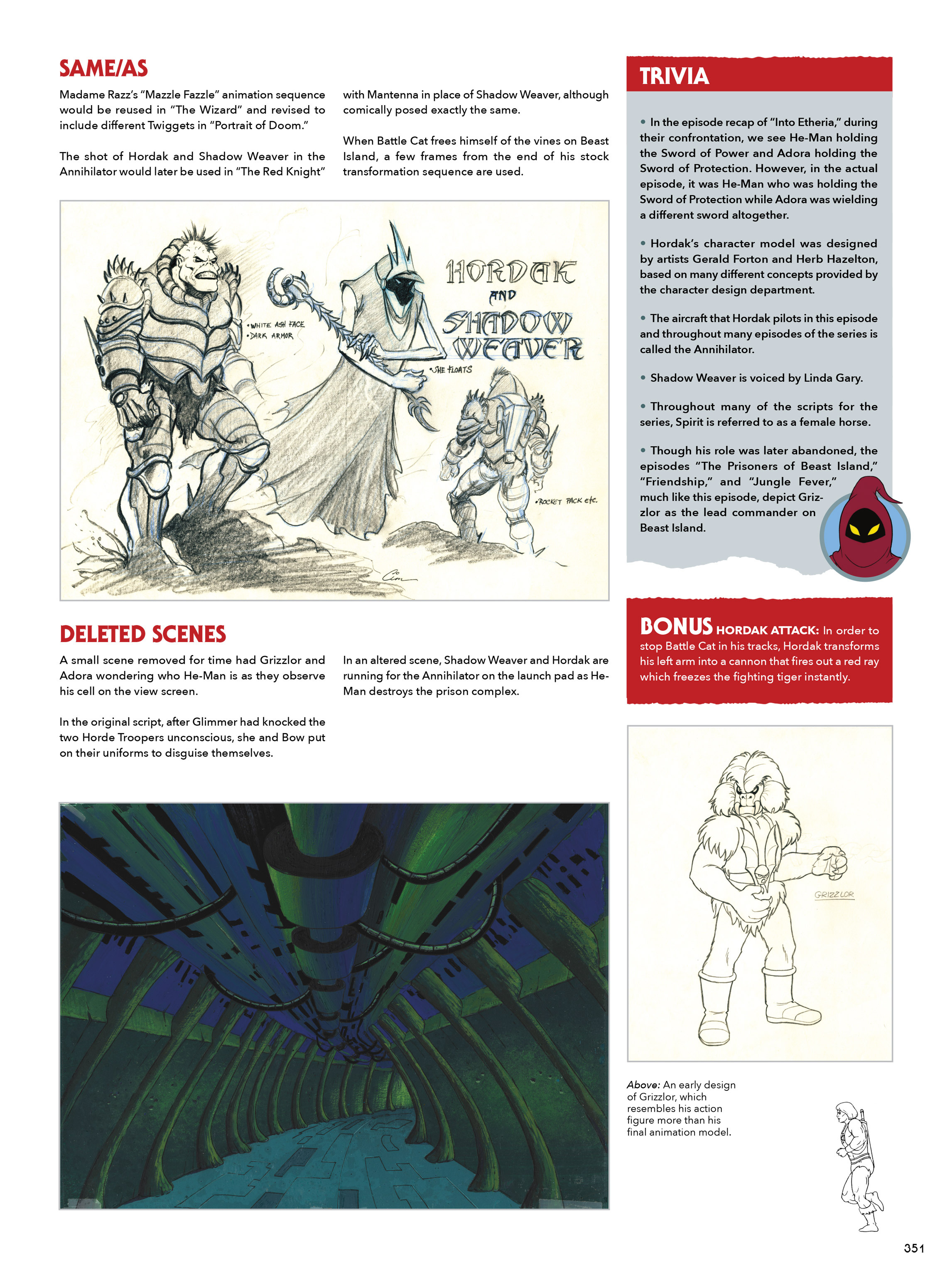 Read online He-Man and She-Ra: A Complete Guide to the Classic Animated Adventures comic -  Issue # TPB (Part 2) - 152