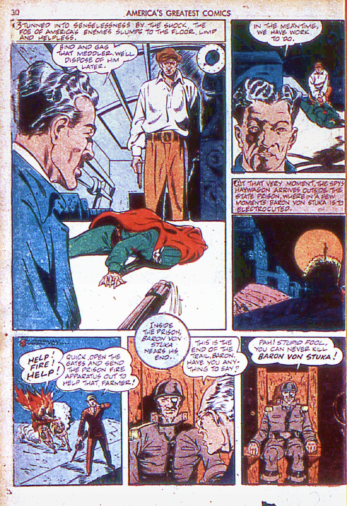 Read online America's Greatest Comics comic -  Issue #6 - 31