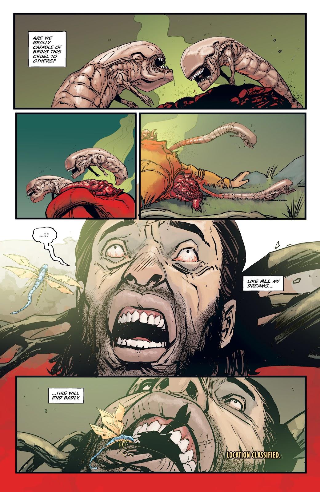 Read online Aliens: Resistance comic -  Issue #4 - 6