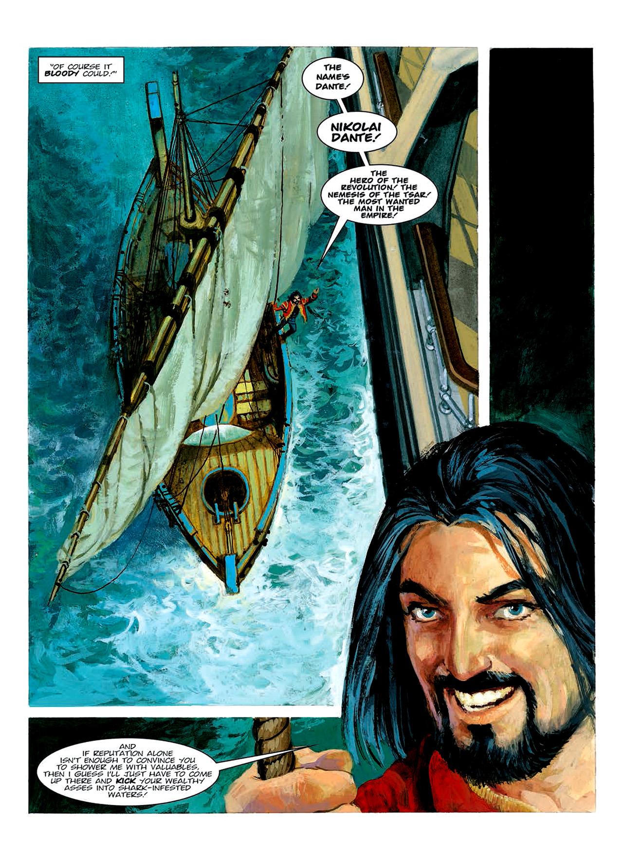 Read online Nikolai Dante comic -  Issue # TPB 6 - 135