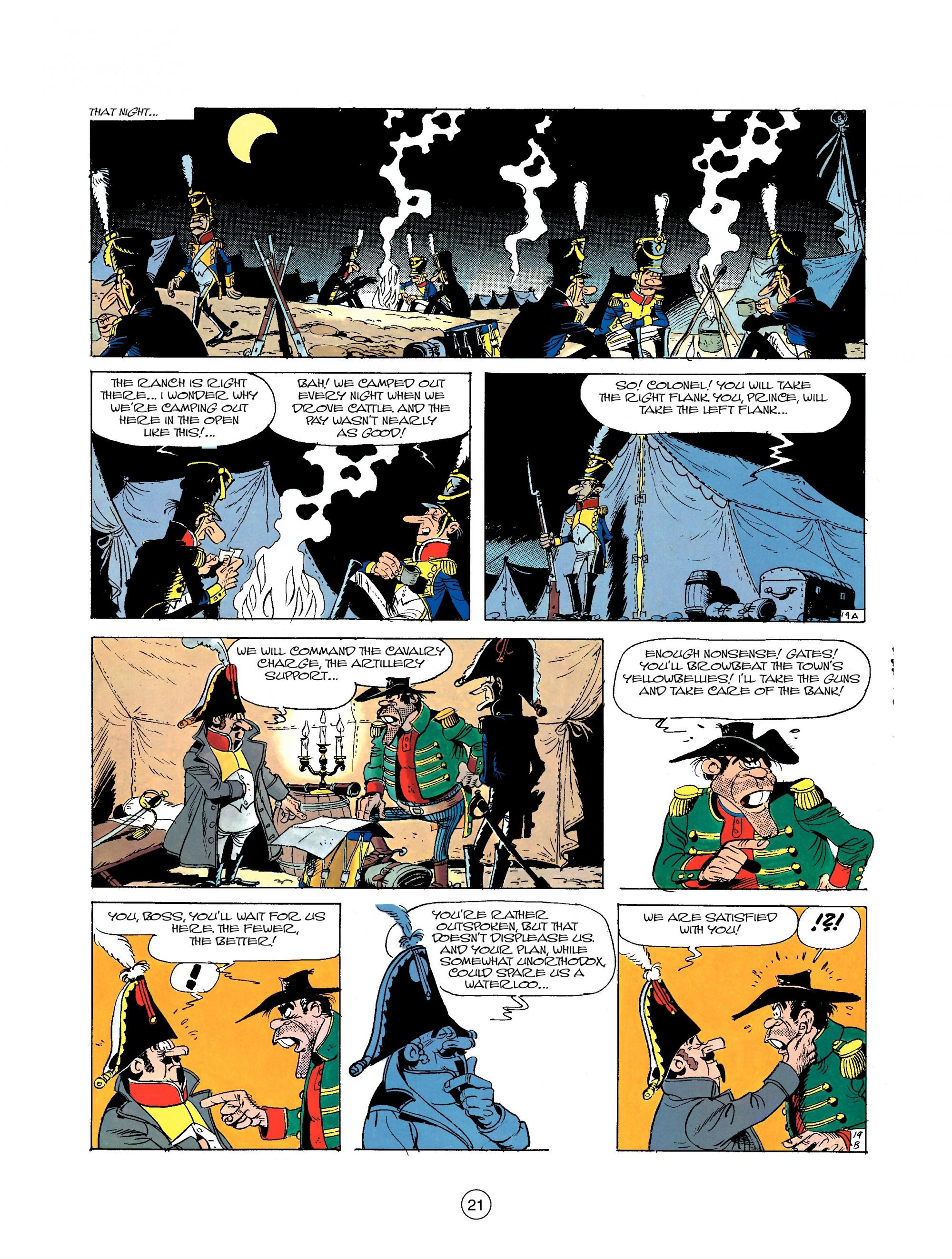 Read online A Lucky Luke Adventure comic -  Issue #22 - 21