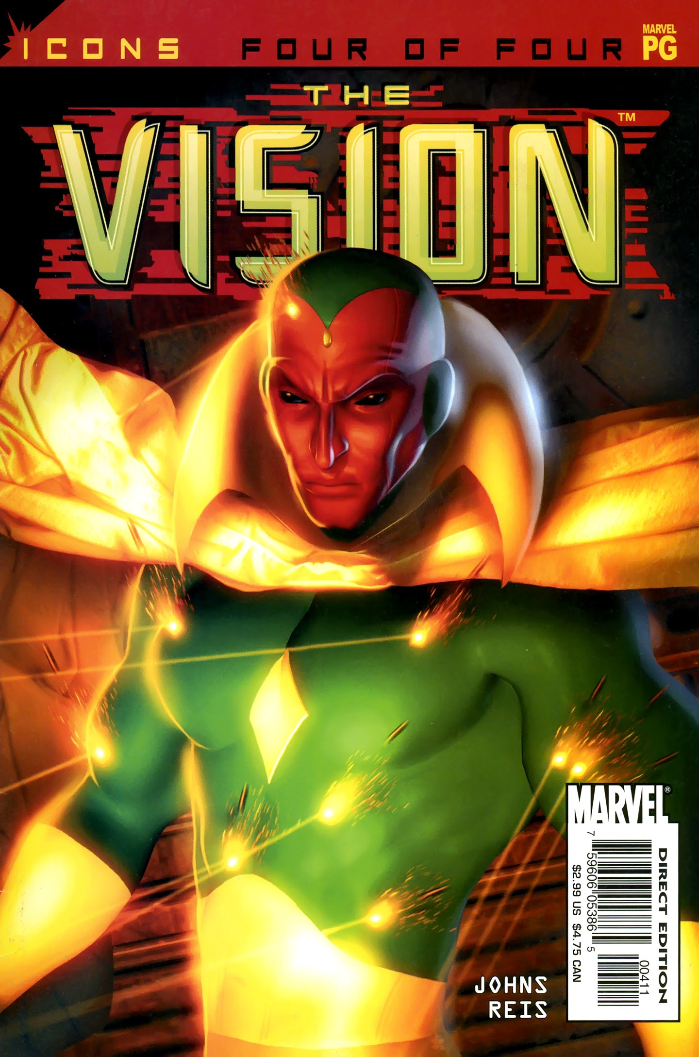 Avengers Icons: The Vision 4 Page 1