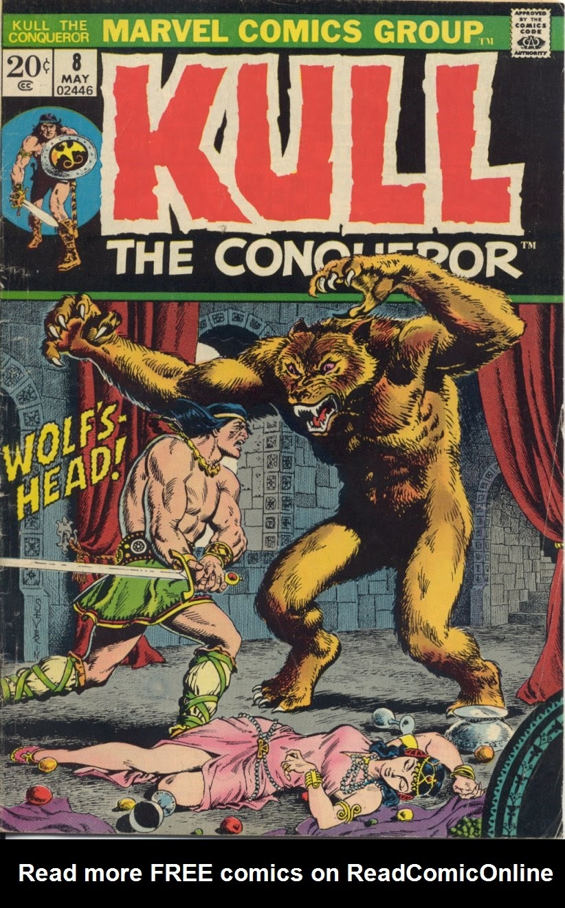 Kull, the Conqueror (1971) issue 8 - Page 1