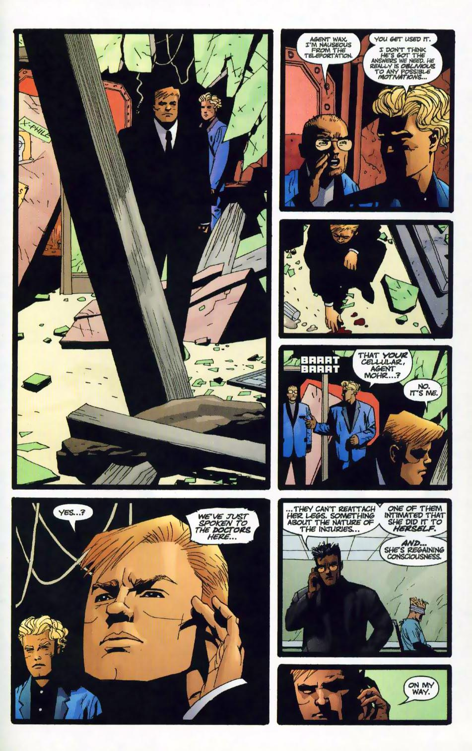 Wildcats (1999) Issue #17 #18 - English 16