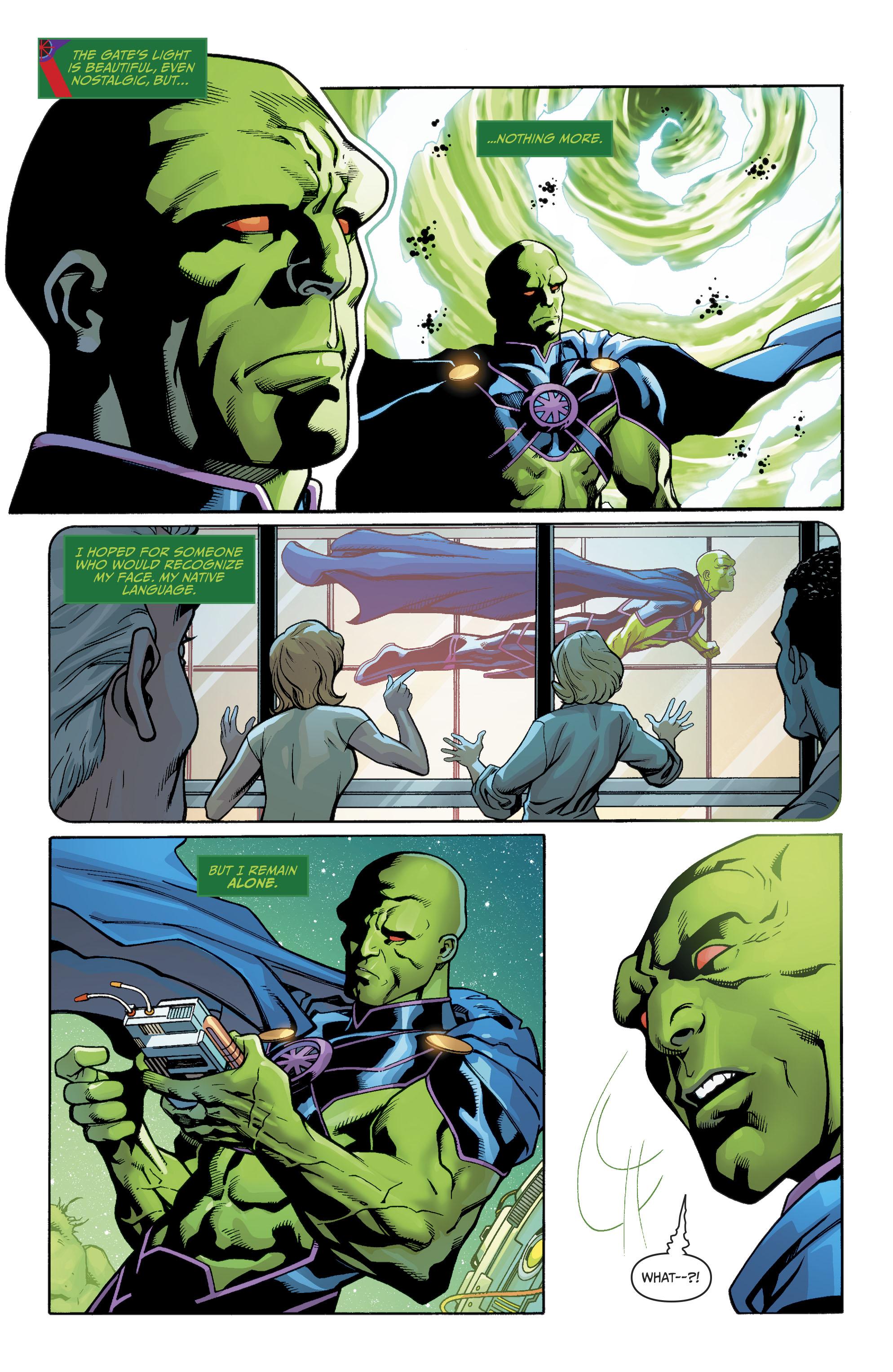 Read online Martian Manhunter/Marvin the Martian Special comic -  Issue # Full - 6