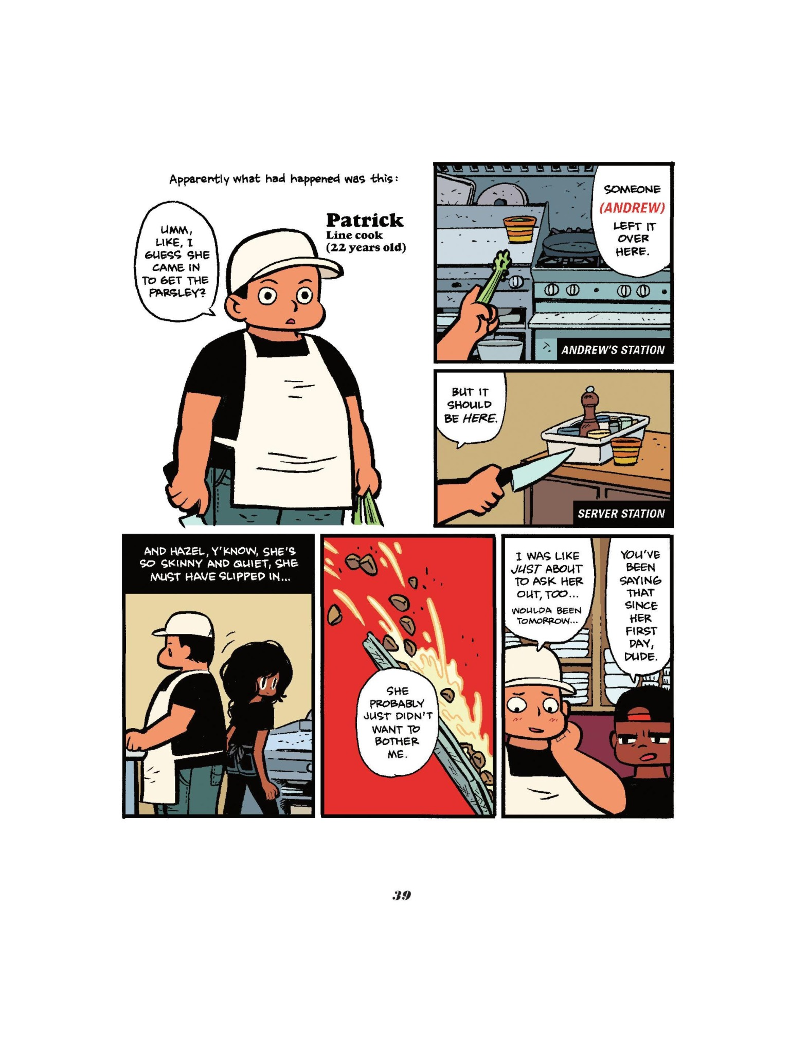 Read online Seconds comic -  Issue # Full - 41