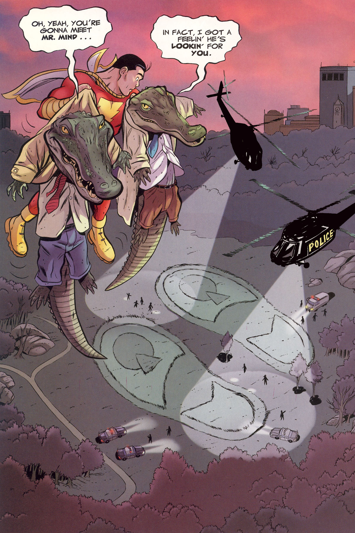 Read online Shazam!: The Monster Society of Evil comic -  Issue #1 - 49