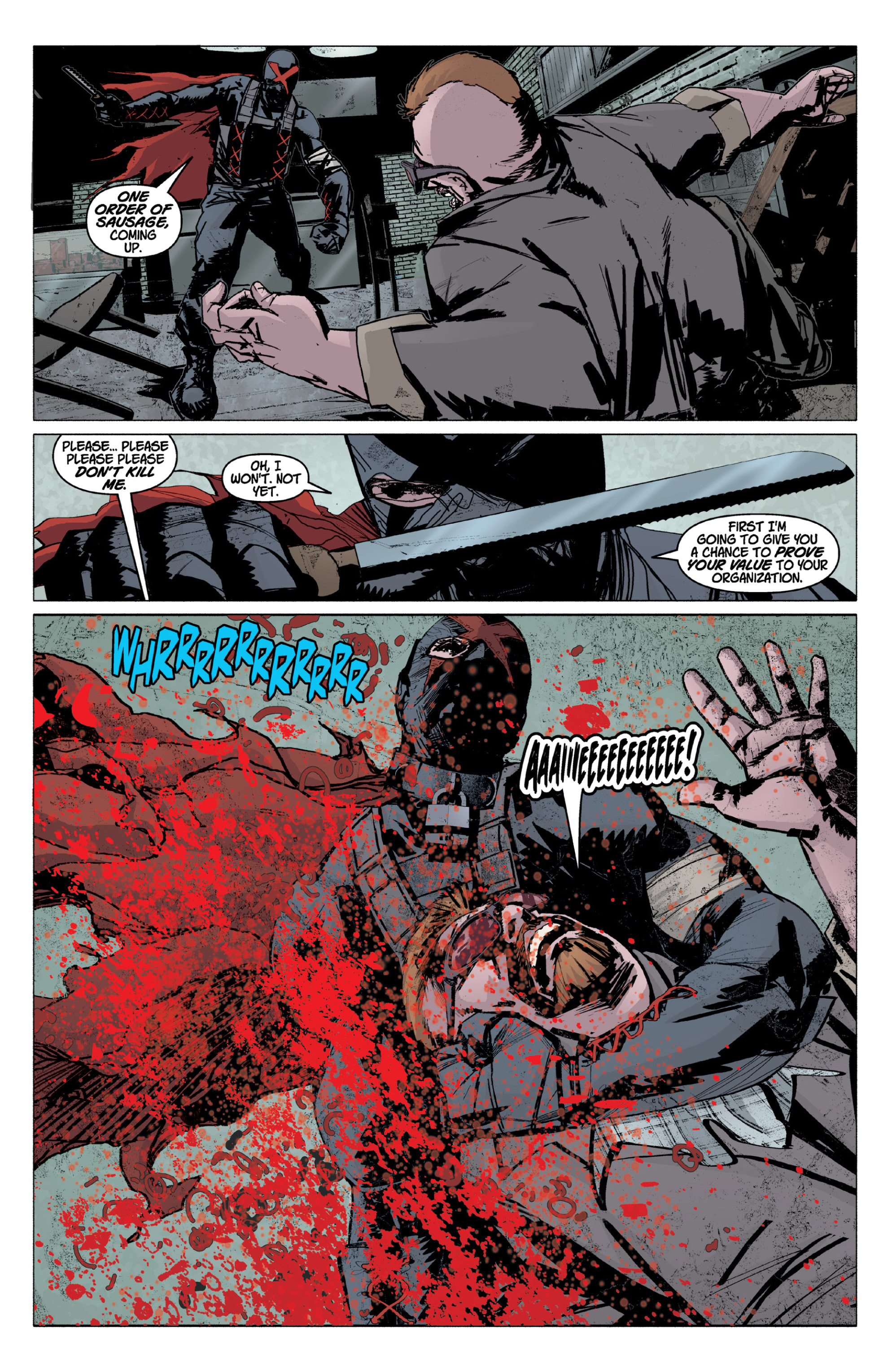 Read online X: Big Bad comic -  Issue # Full - 15