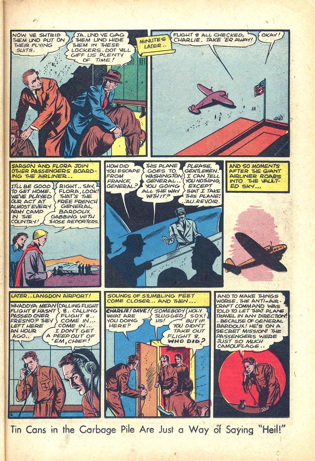 Read online Sensation (Mystery) Comics comic -  Issue #34 - 17