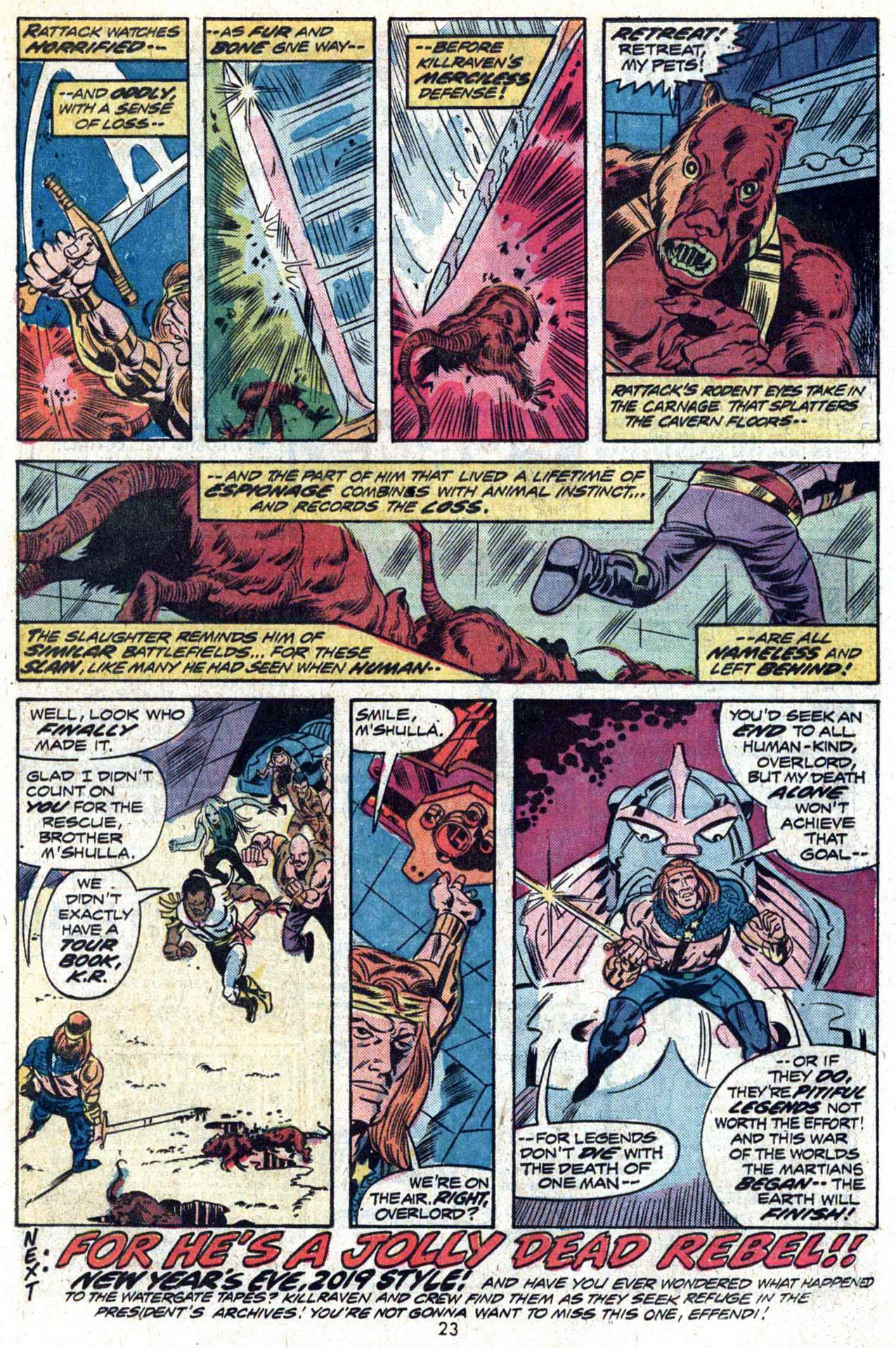 Read online Amazing Adventures (1970) comic -  Issue #23 - 24