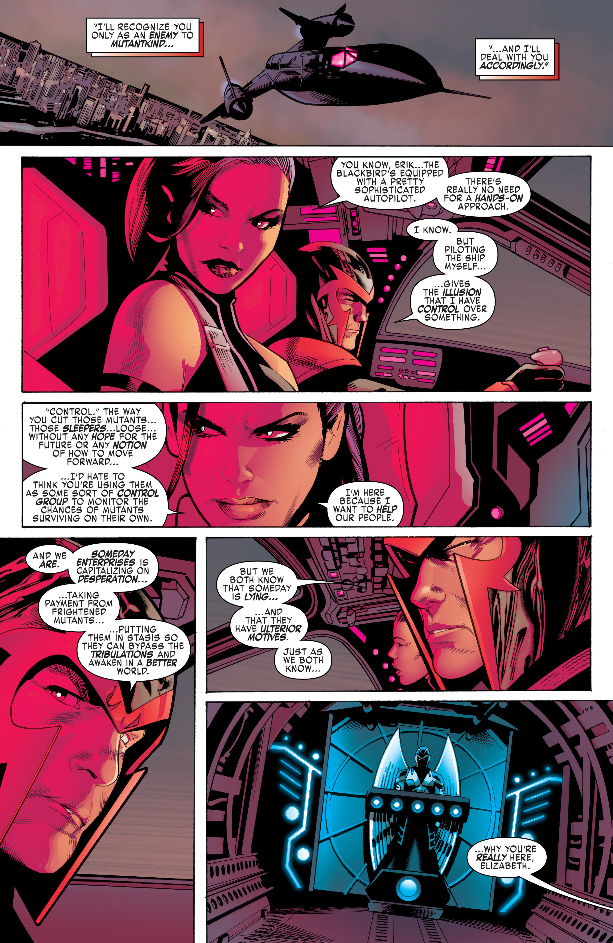 Read online Uncanny X-Men (2016) comic -  Issue #1 - 19