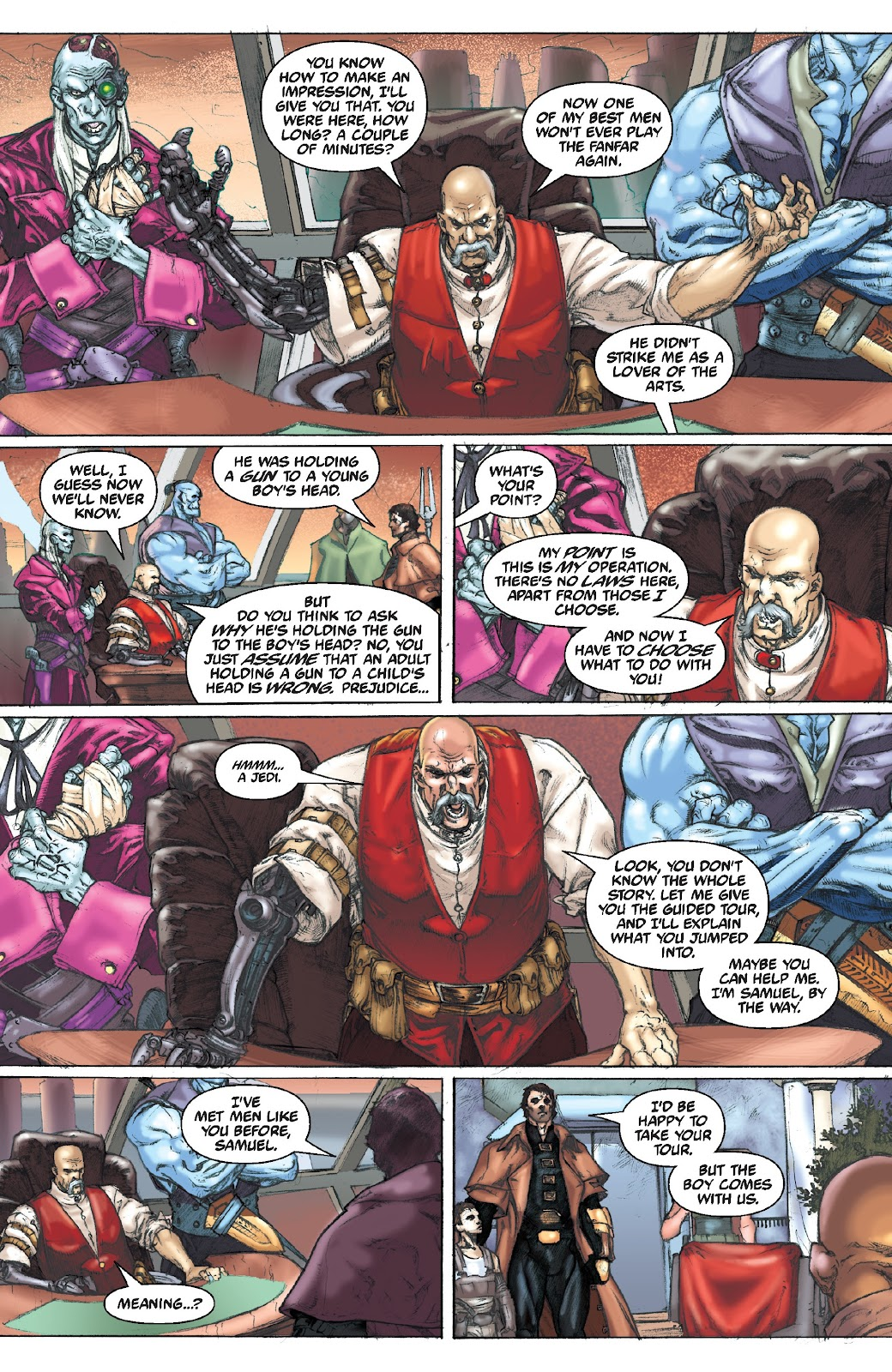Read online Star Wars Legends Epic Collection: The Menace Revealed comic -  Issue # TPB (Part 4) - 92