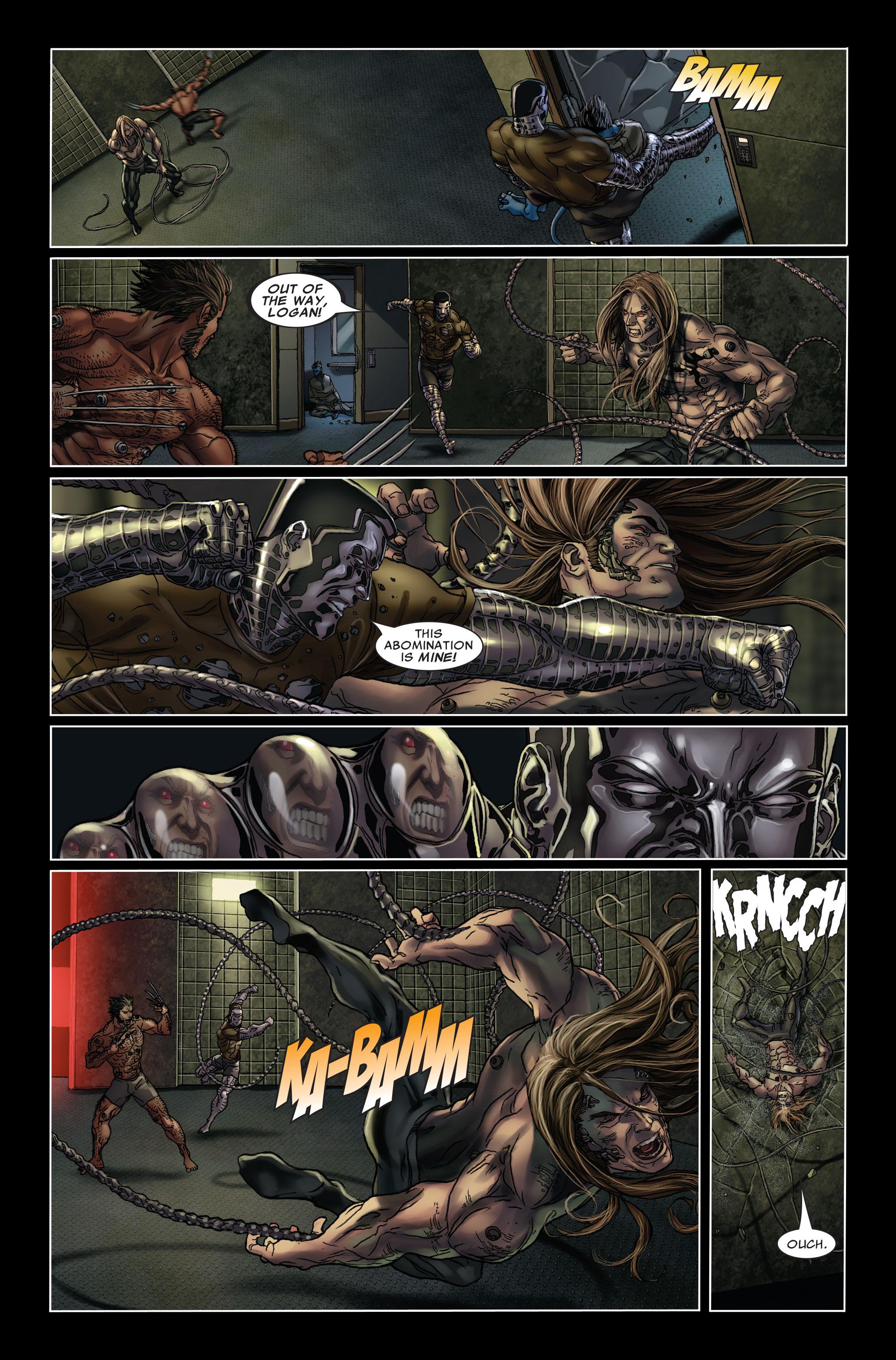 Read online Uncanny X-Men (1963) comic -  Issue #499 - 6